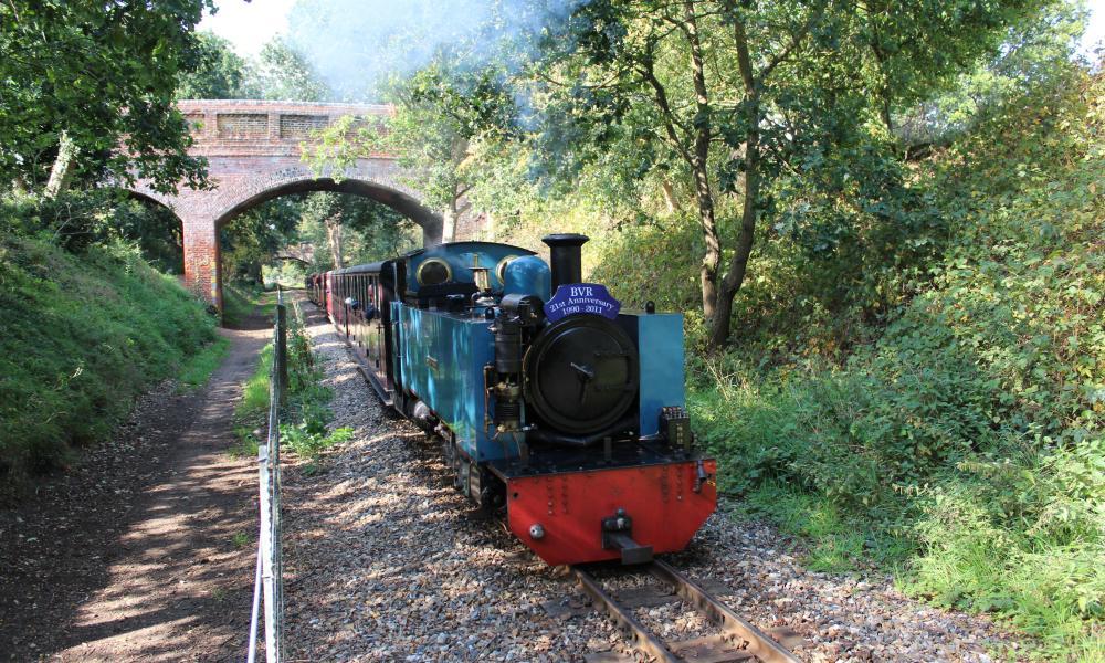 Bure Valley Railway, Wroxham Broad.
