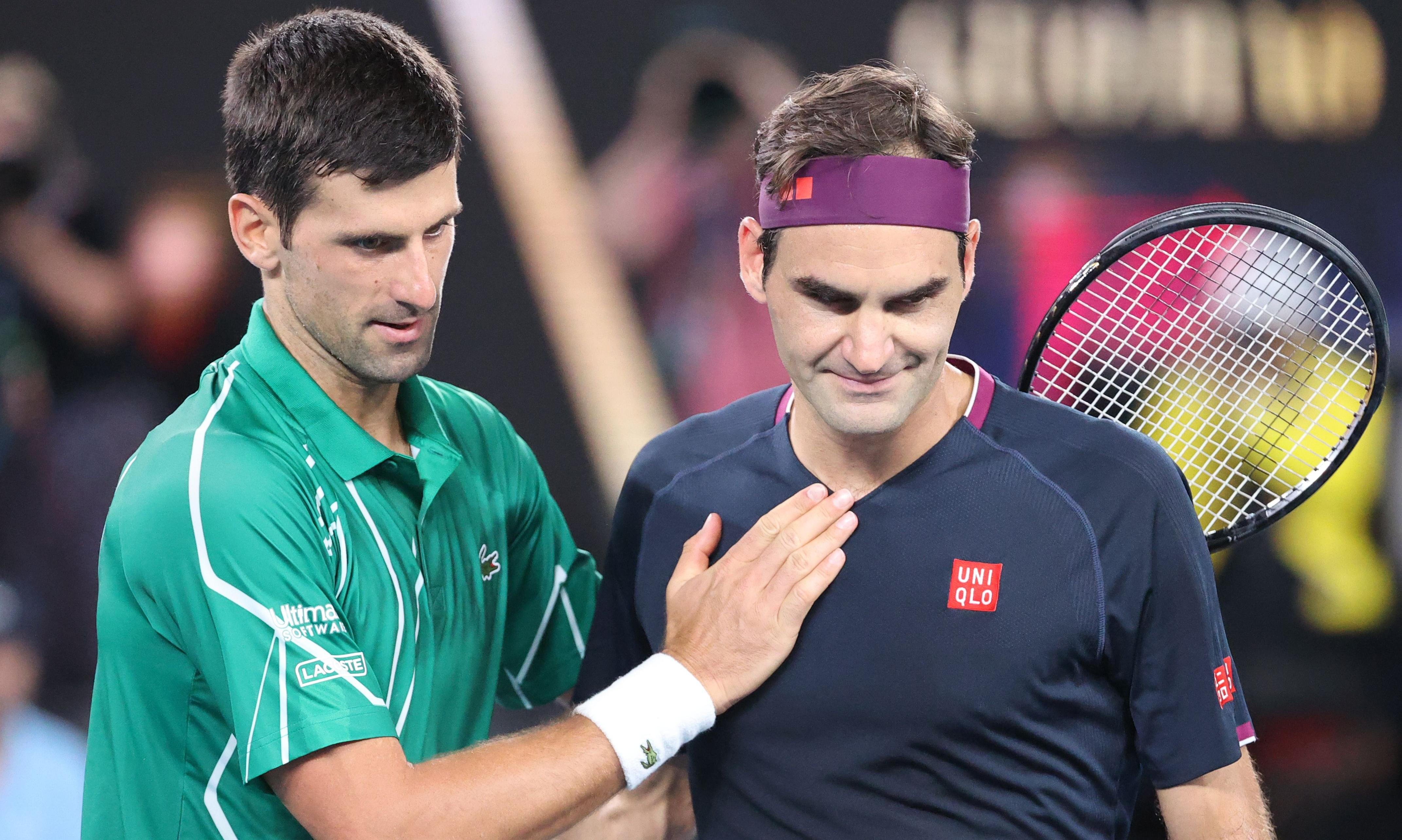 Roger Federer bows to injury and Djokovic but winning belief remains