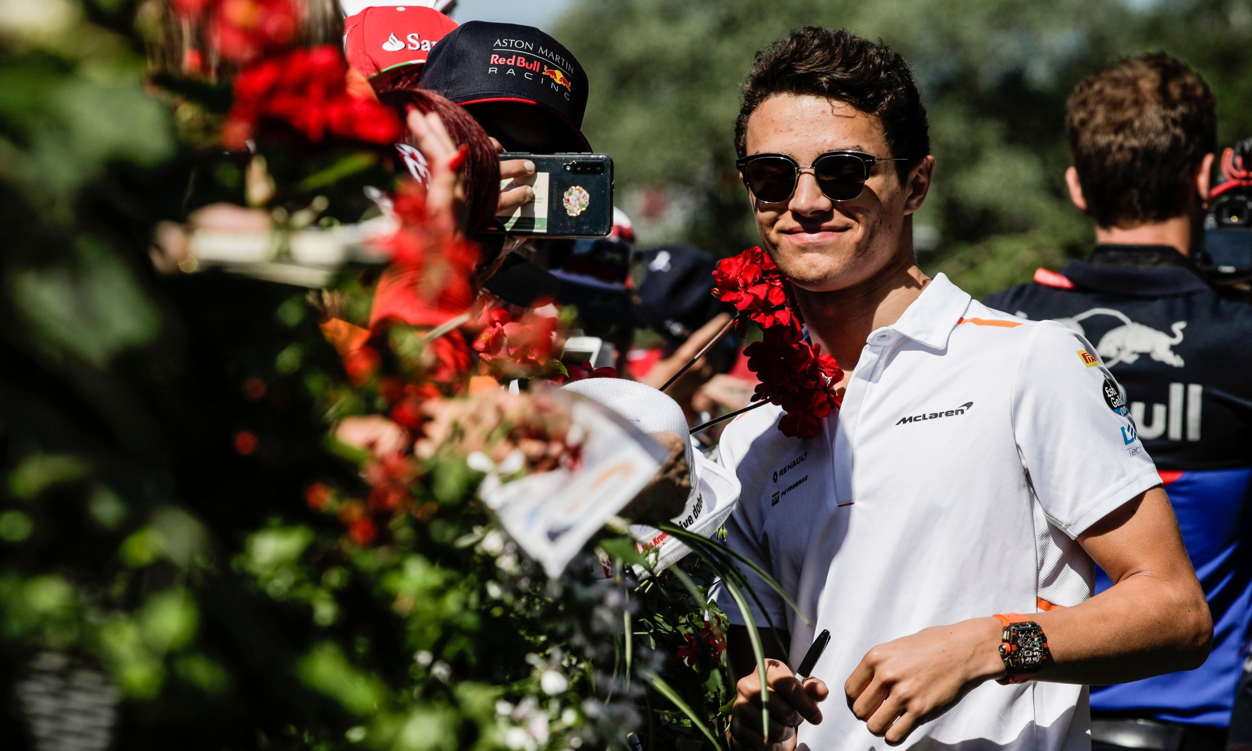 Lando Norris signs new McLaren contract after superb start to F1 career