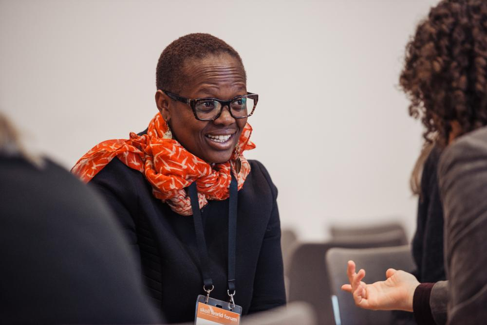 Skoll World Forum 2018Oxford, England. April 10th 2018. Delegates participate in the First Connections networking seminar at the 2018 Skoll World Forum in Oxford. Alex Atack for The Guardian/GuardianLabs