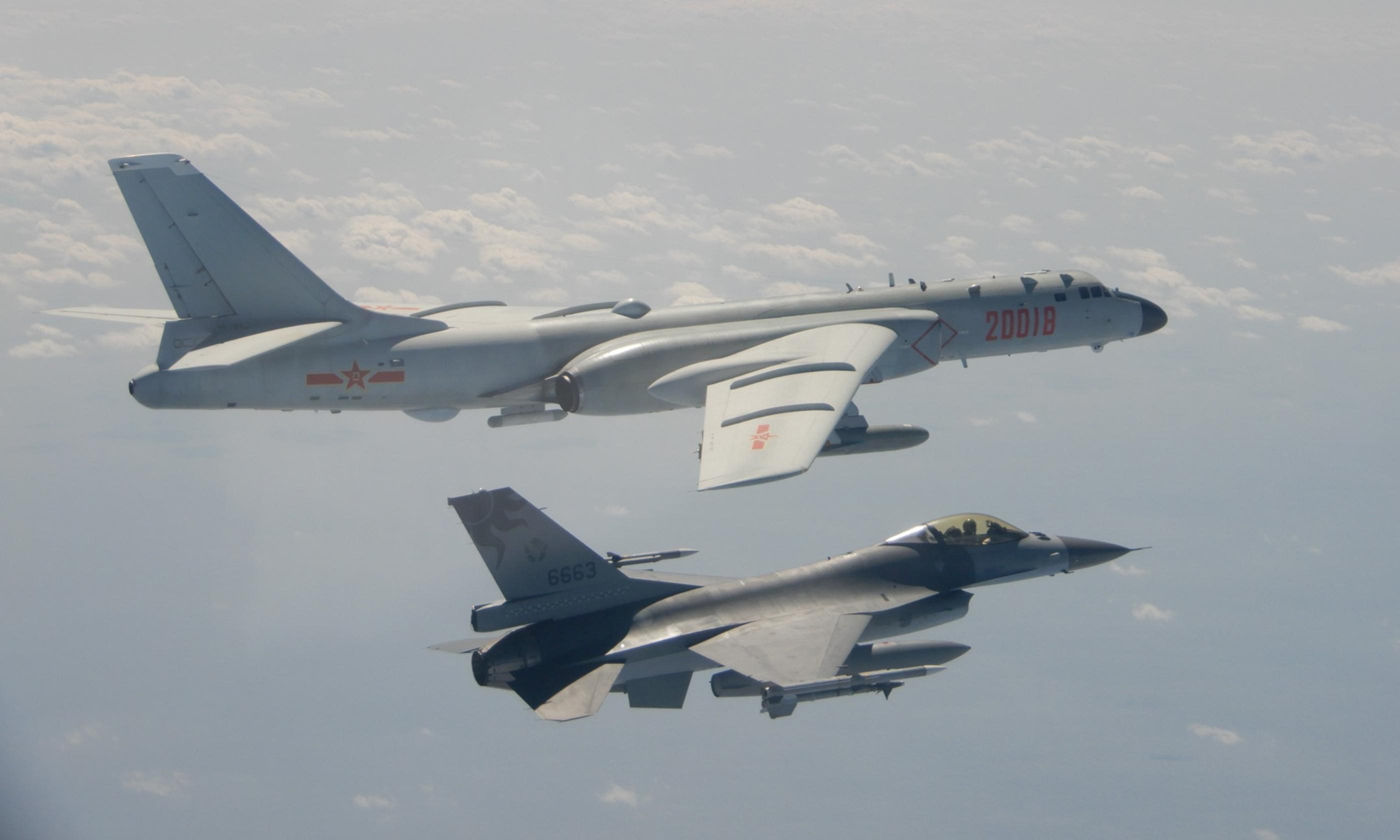 Taiwan scrambles jet fighters after Chinese aircraft enter airspace