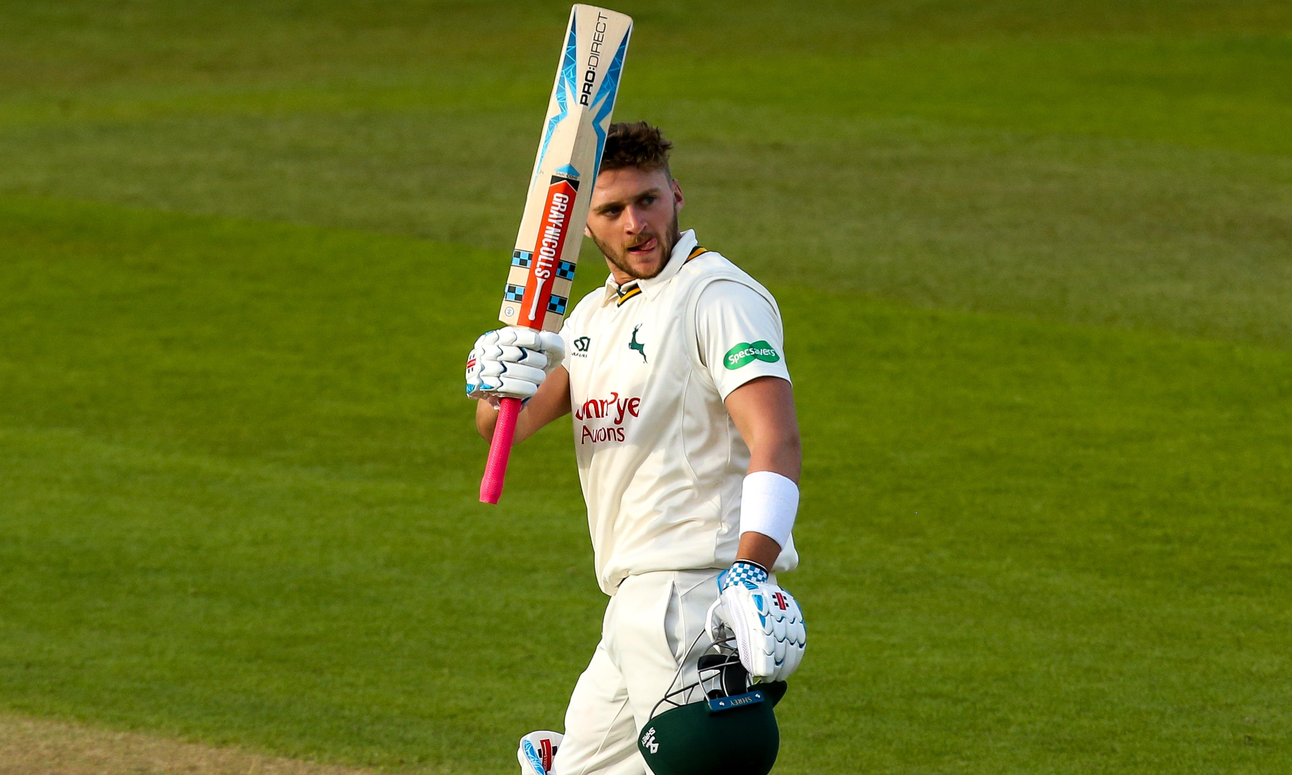 Joe Clarke charms his way to a century on Nottinghamshire debut