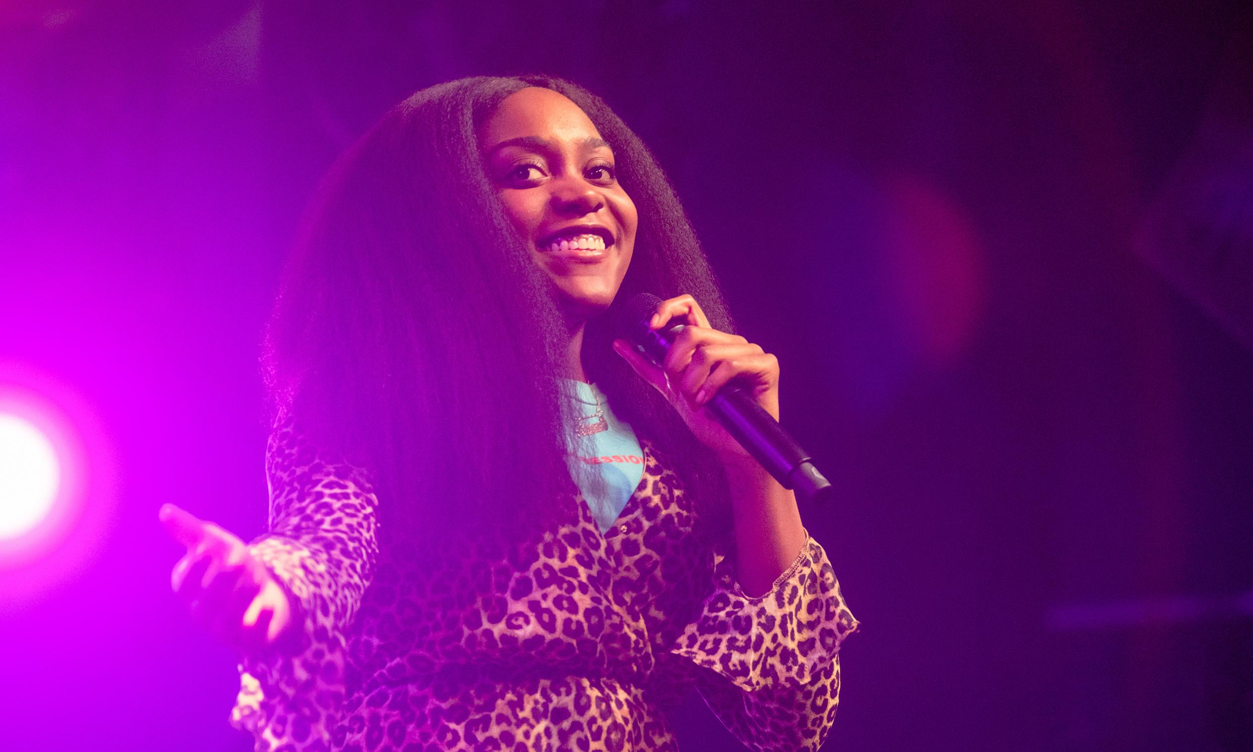 Noname review – bright torrent of wordplay from Chicago rap star