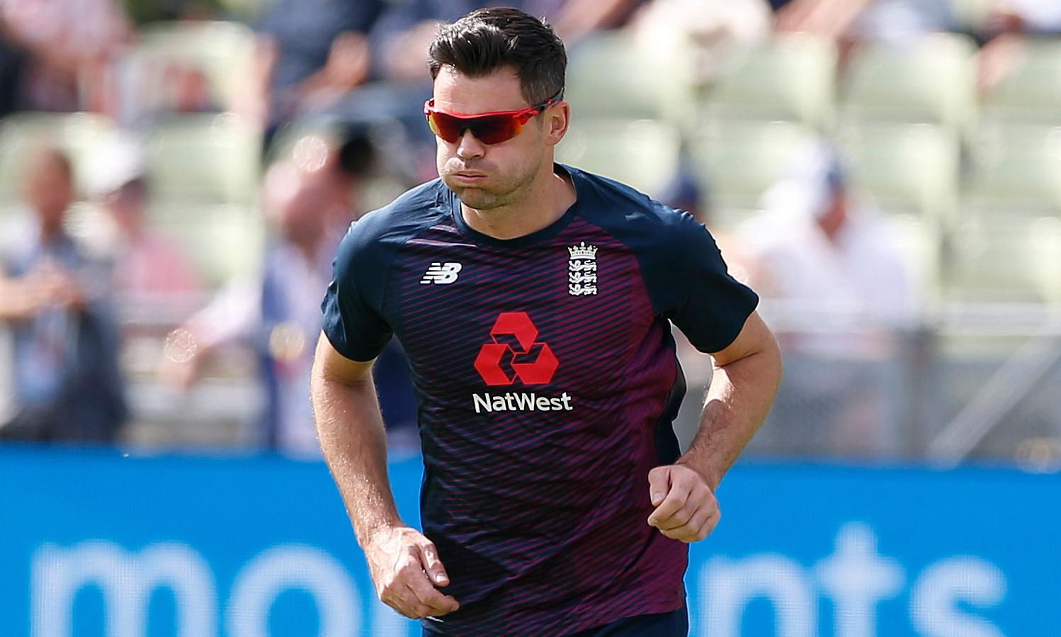 England's Jimmy Anderson still has hope of bowling again in first Ashes Test