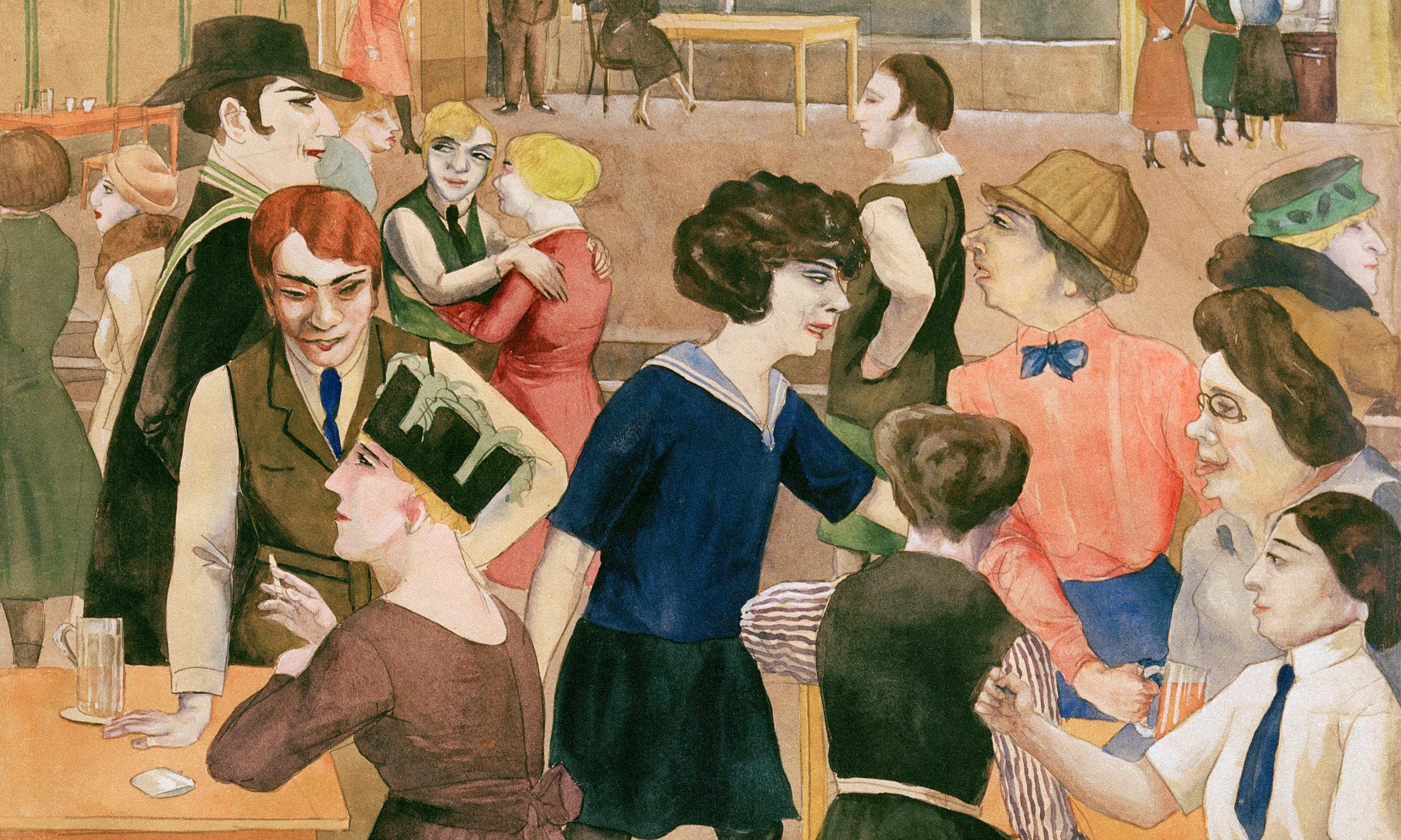 Rudolf Schlichter's Women's Club: decadence and satire