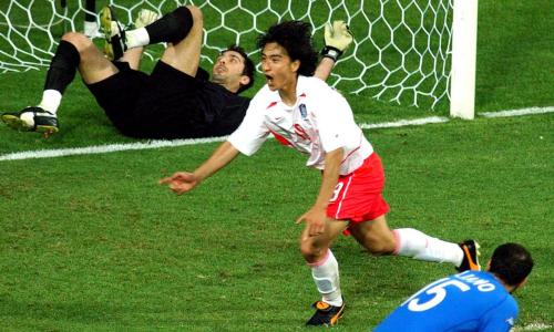 be09fcee4a2 World Cup stunning moments  Italy shocked by South Korea in 2002 ...