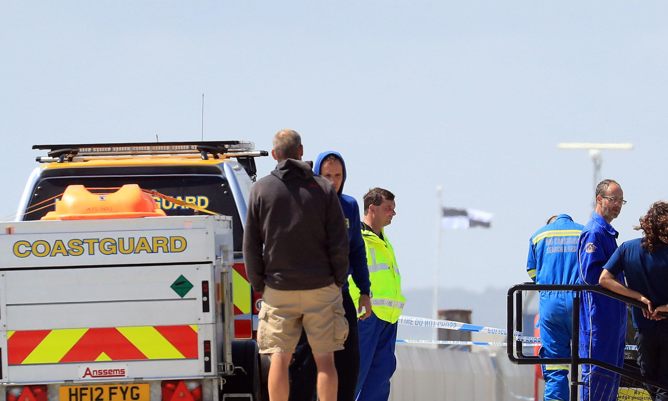 Man dies after tumbling into wall at Camber Sands