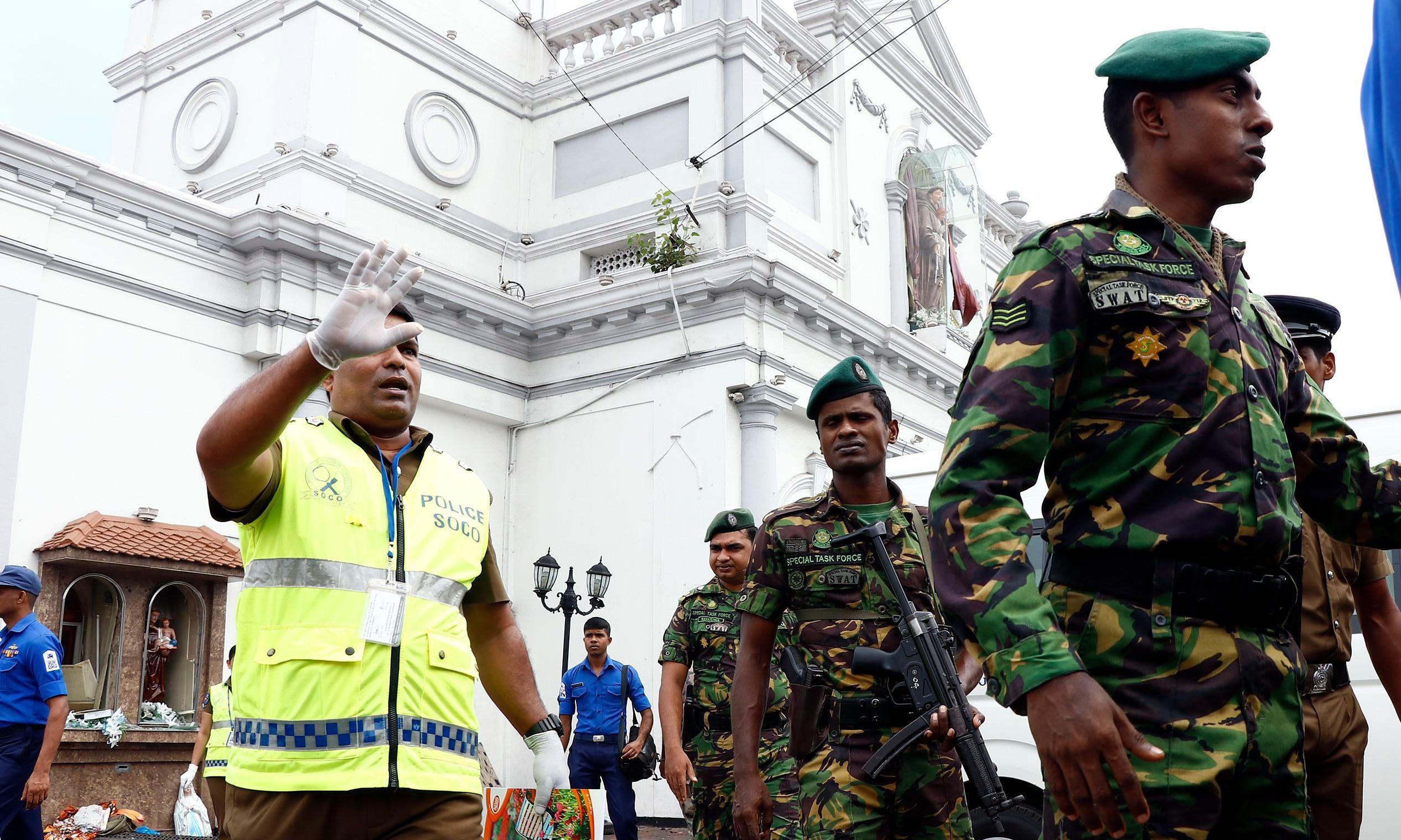 Sri Lanka caught off-guard by attacks despite its violent recent past