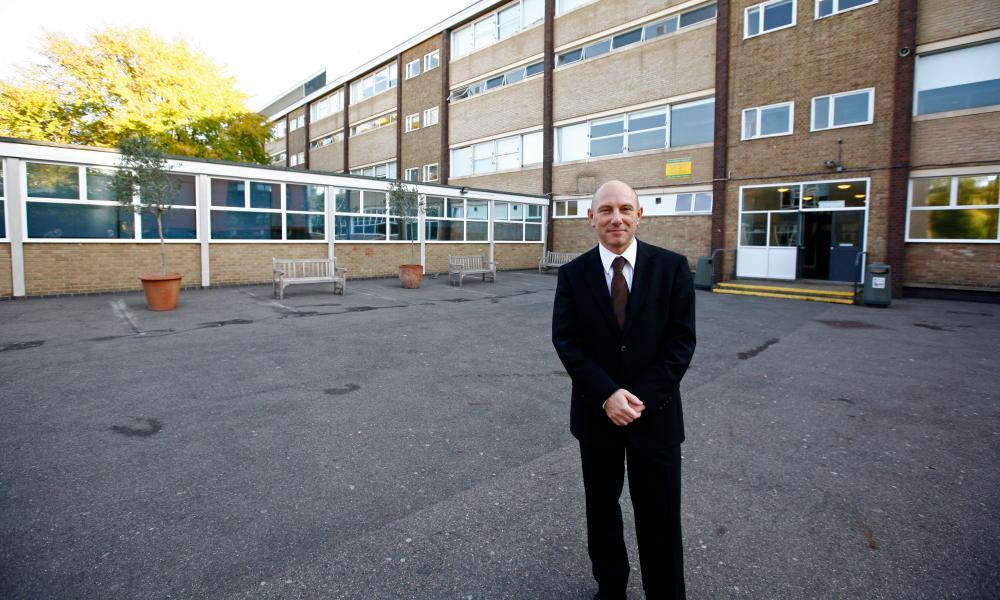Colin Hall, headteacher at Holland Park school, west London