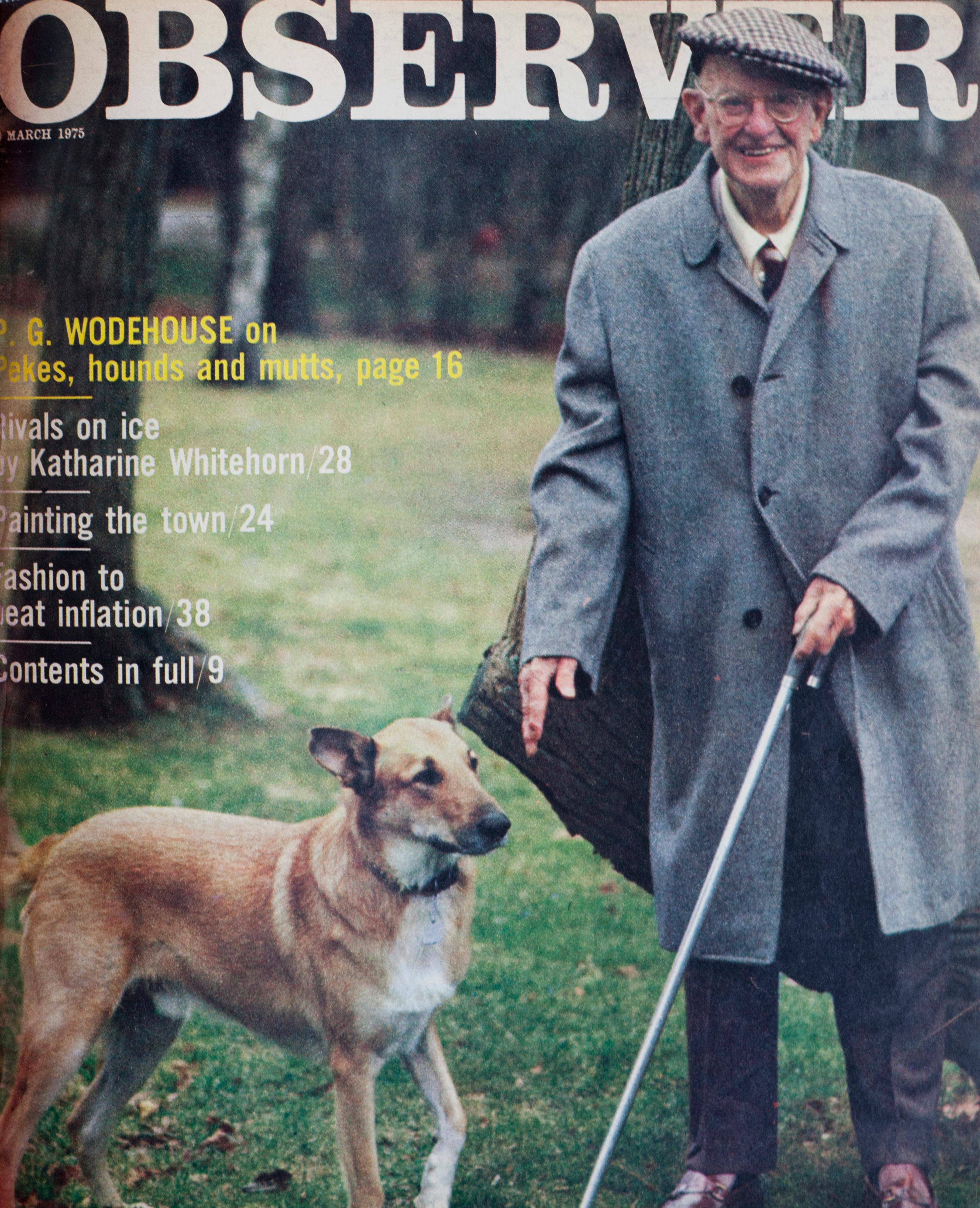 From the archive: PG Wodehouse and the love of dogs
