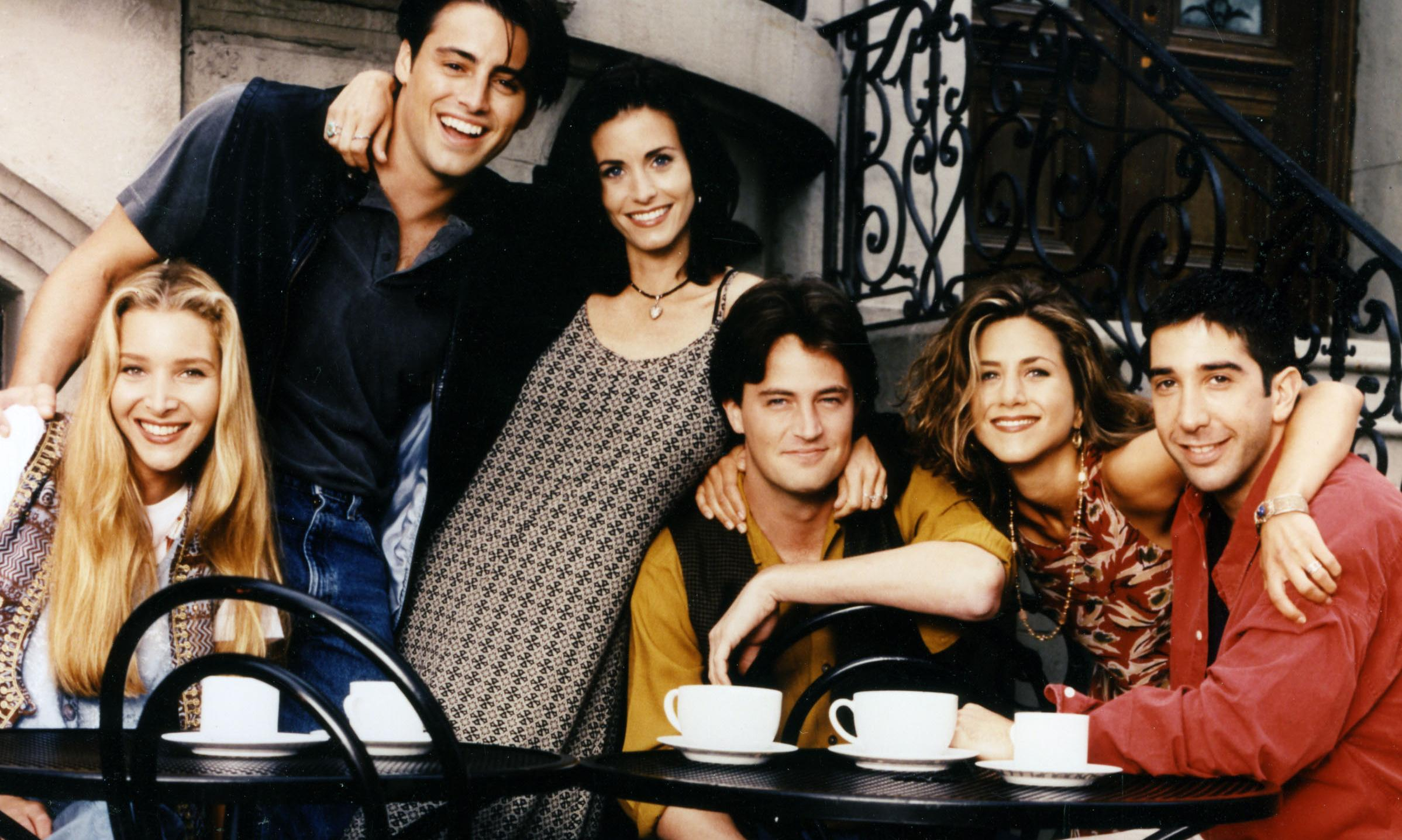 Friends is social history – when young people bought coffee without guilt