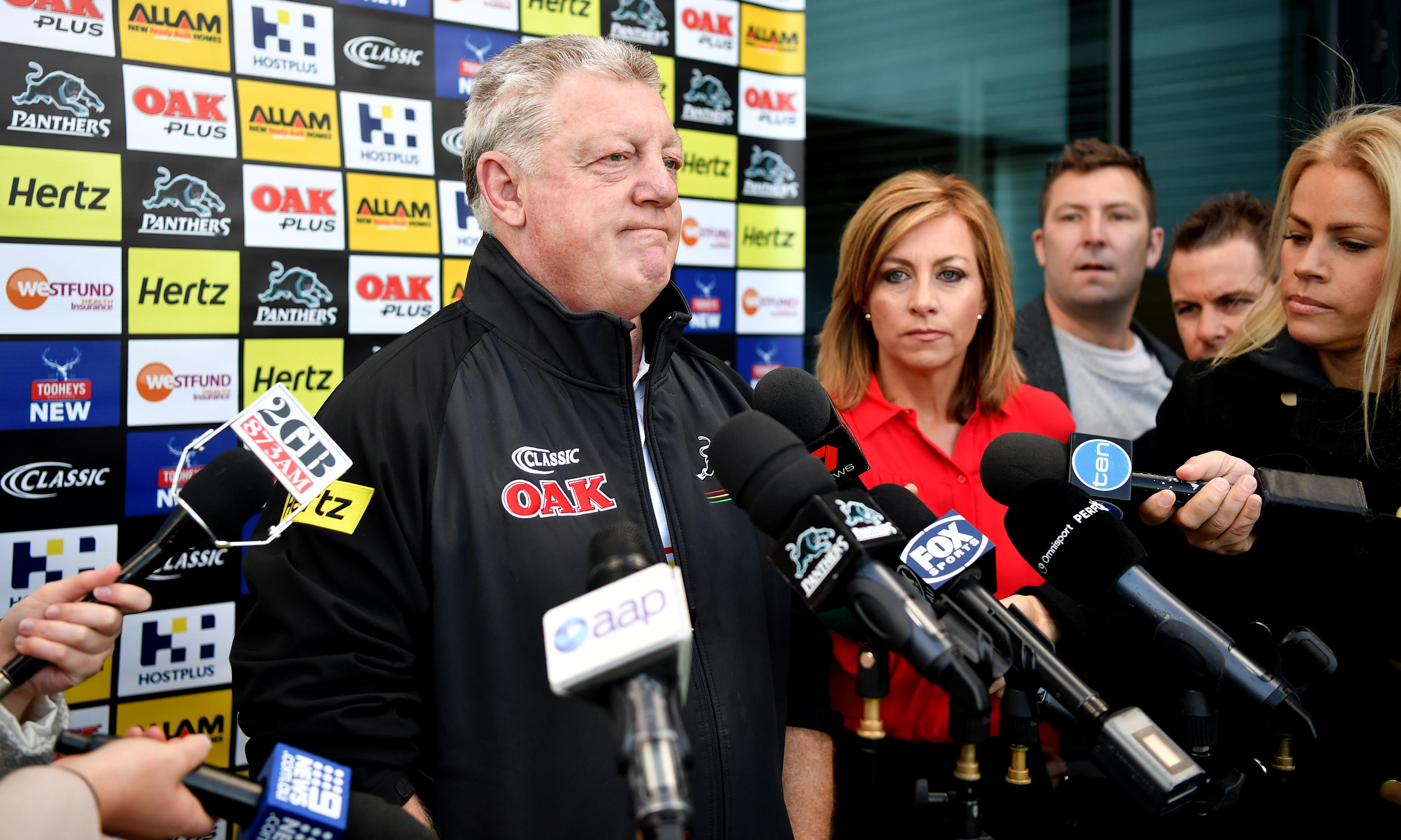 Phil Gould confirms Penrith exit but denies Cleary falling out