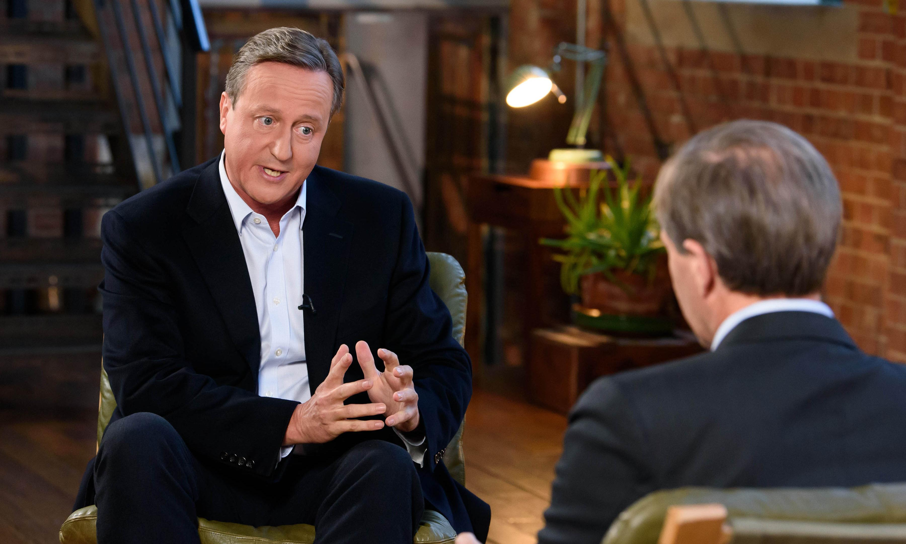 Cameron: Johnson said leave campaign would lose minutes before backing it