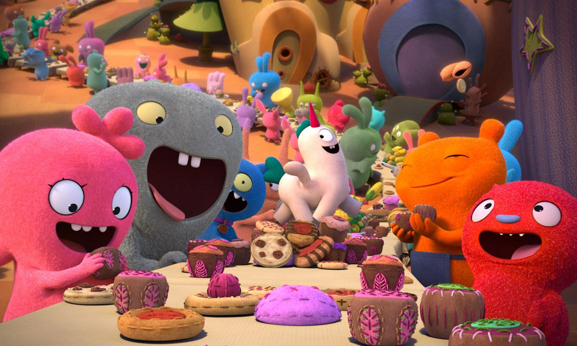 UglyDolls review – fluffy toys deliver a fuzzy message