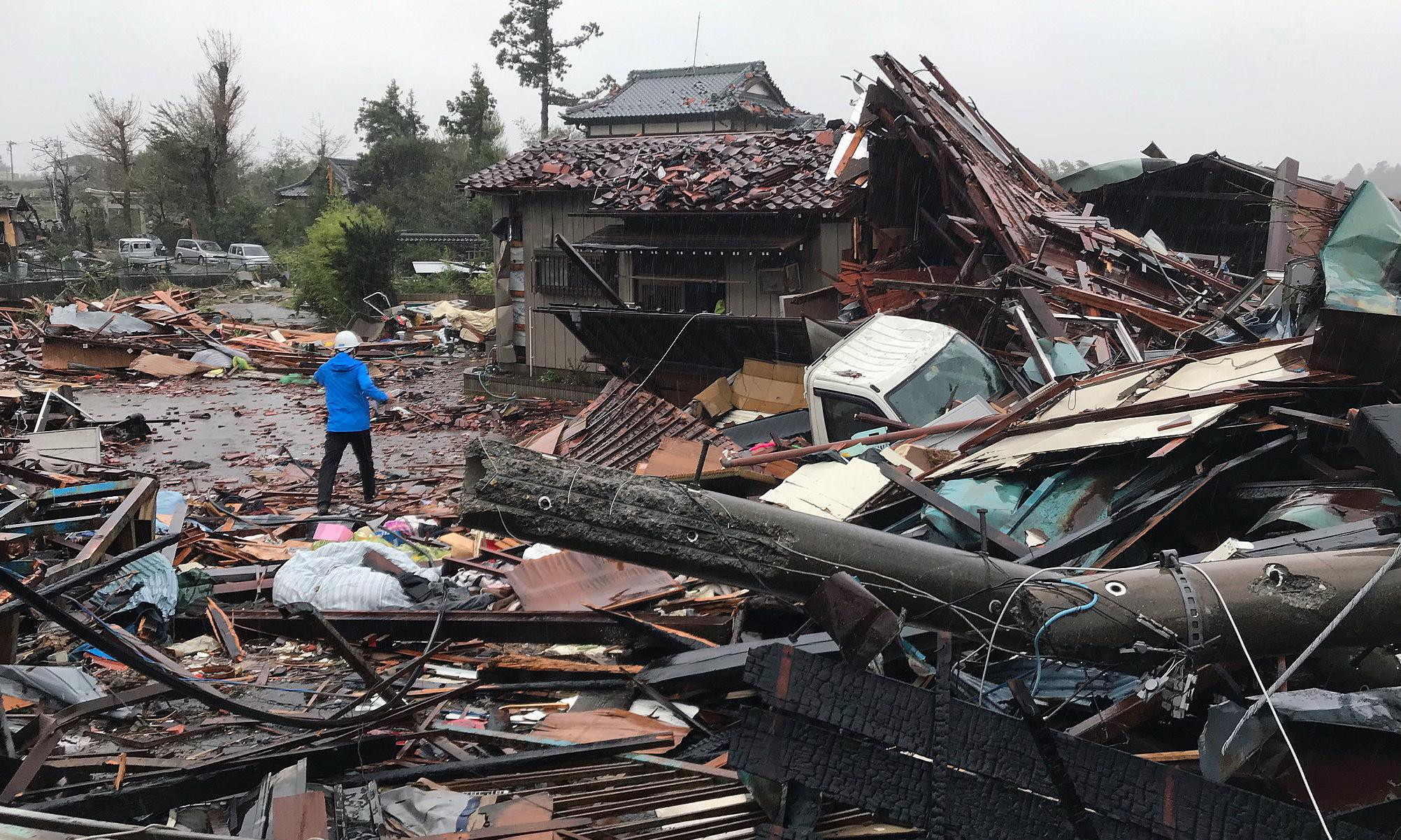 Typhoon Hagibis: death toll rises in Japan as 'worst storm in 60 years' roars through