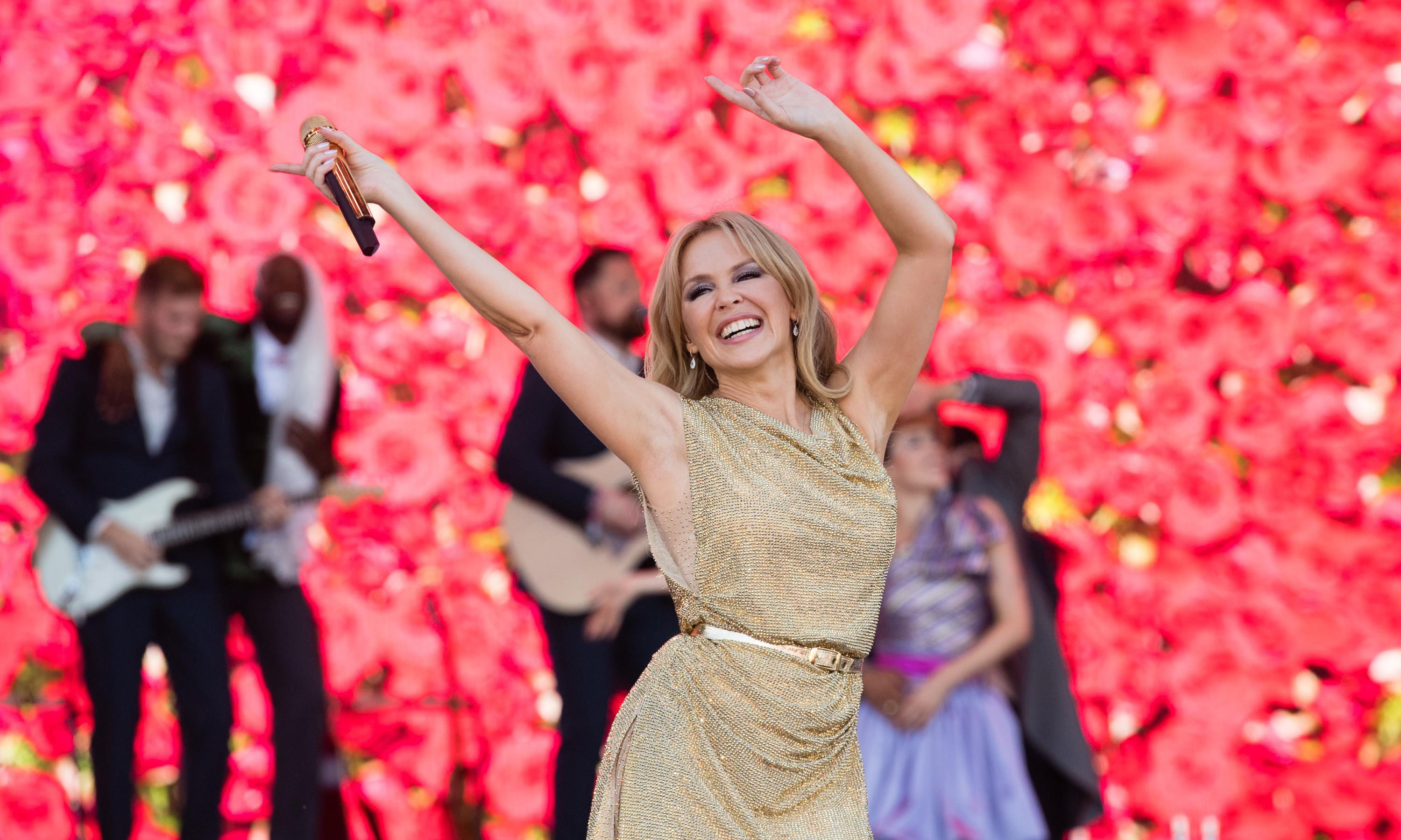 Kylie at Glastonbury 2019 review – solid-gold set from a living legend