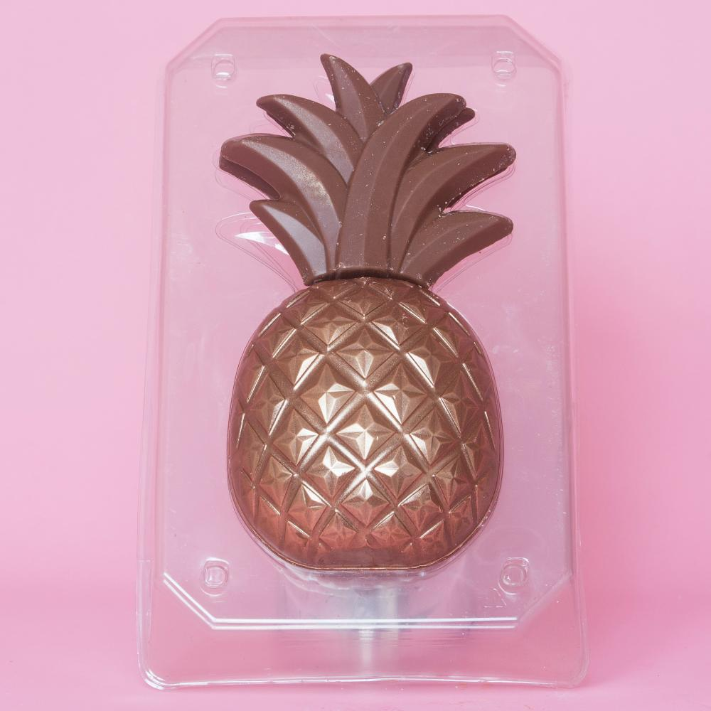 Morrisons milk chocolate pineapple Easter egg.