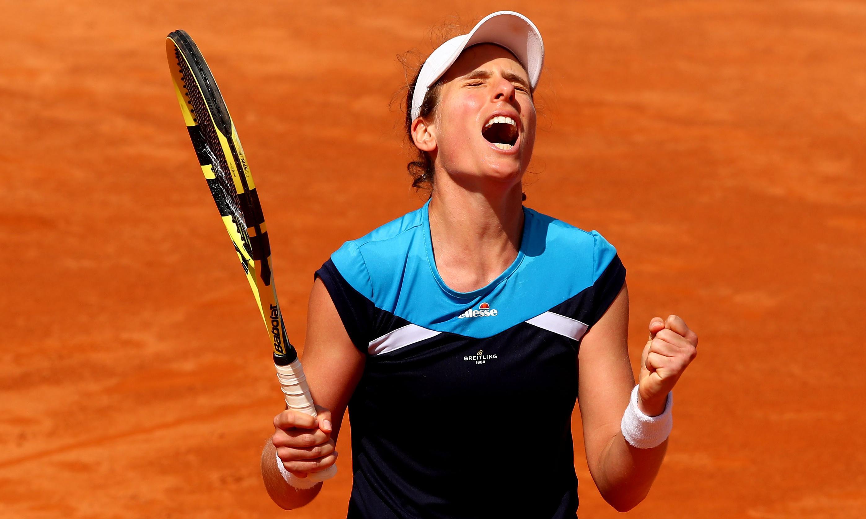 Johanna Konta reaches Italian Open final after victory over Kiki Bertens