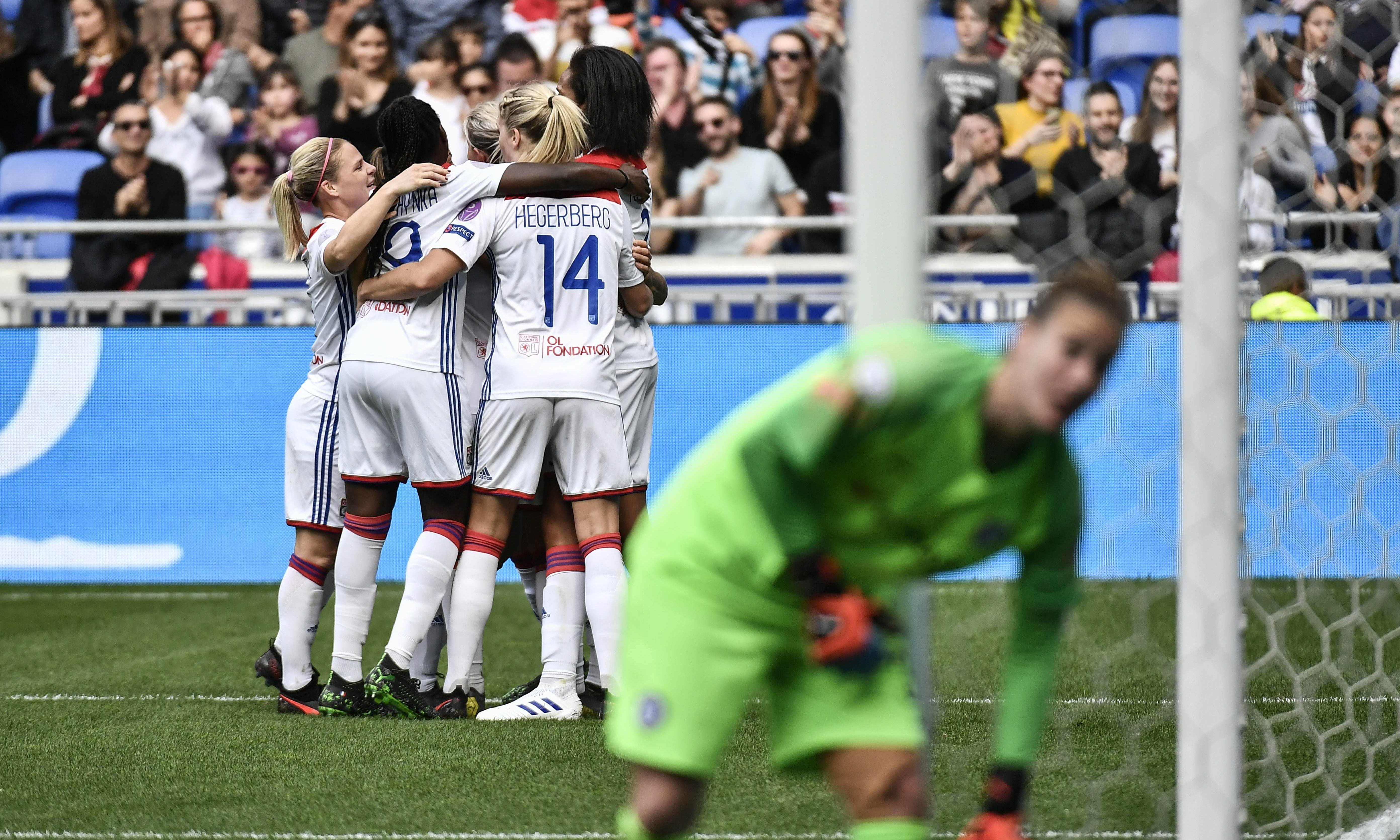 Chelsea lose in Lyon but Erin Cuthbert gives hope for semi-final second leg