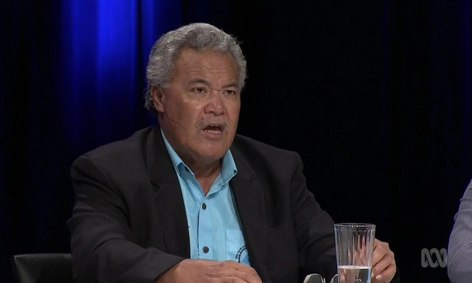 Q&A: former Tuvalu PM says Scott Morrison denies climate change is happening in Pacific