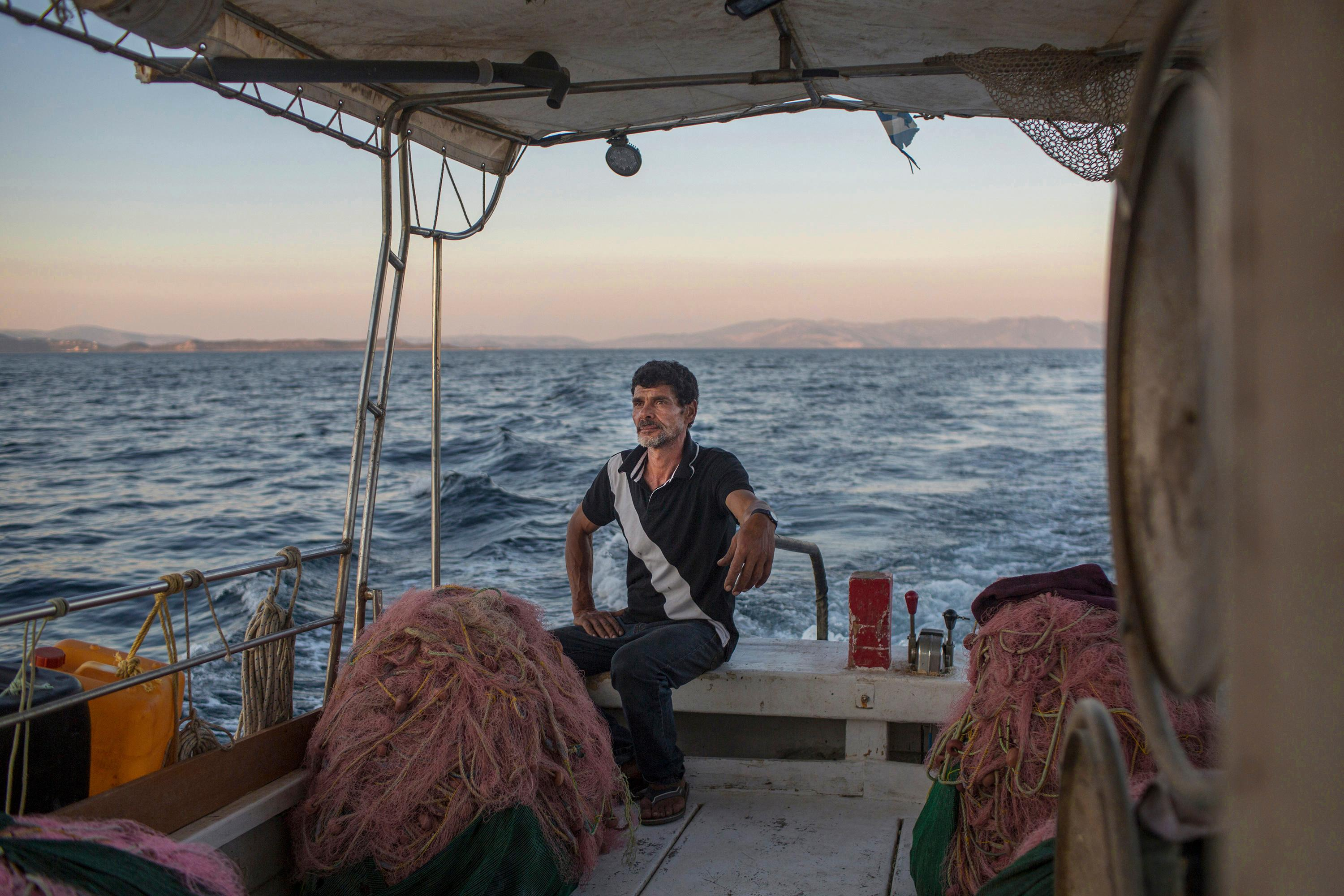 'In my nightmares I'm always in the sea': a year on from the Greek fires