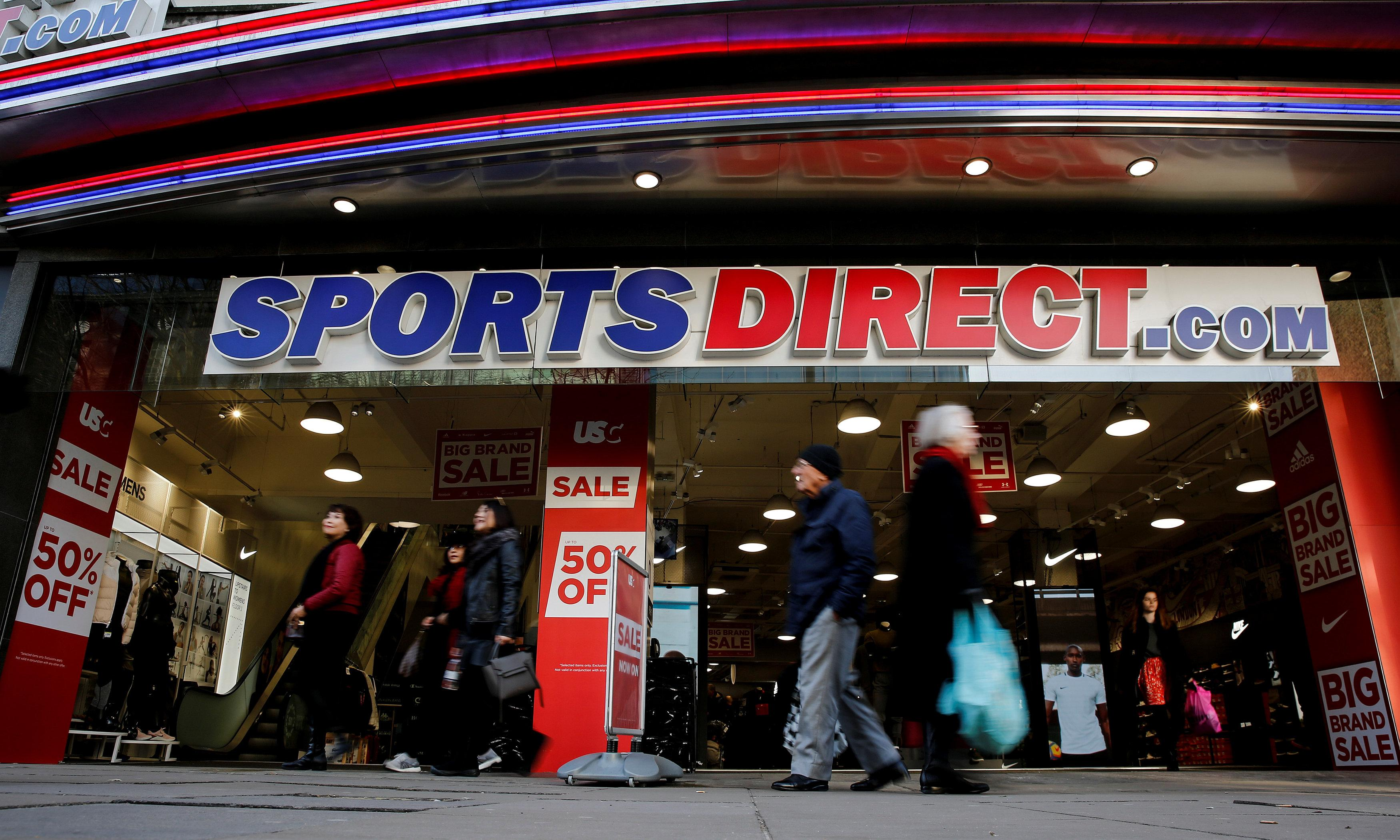 Sports Direct delays results amid House of Fraser woes