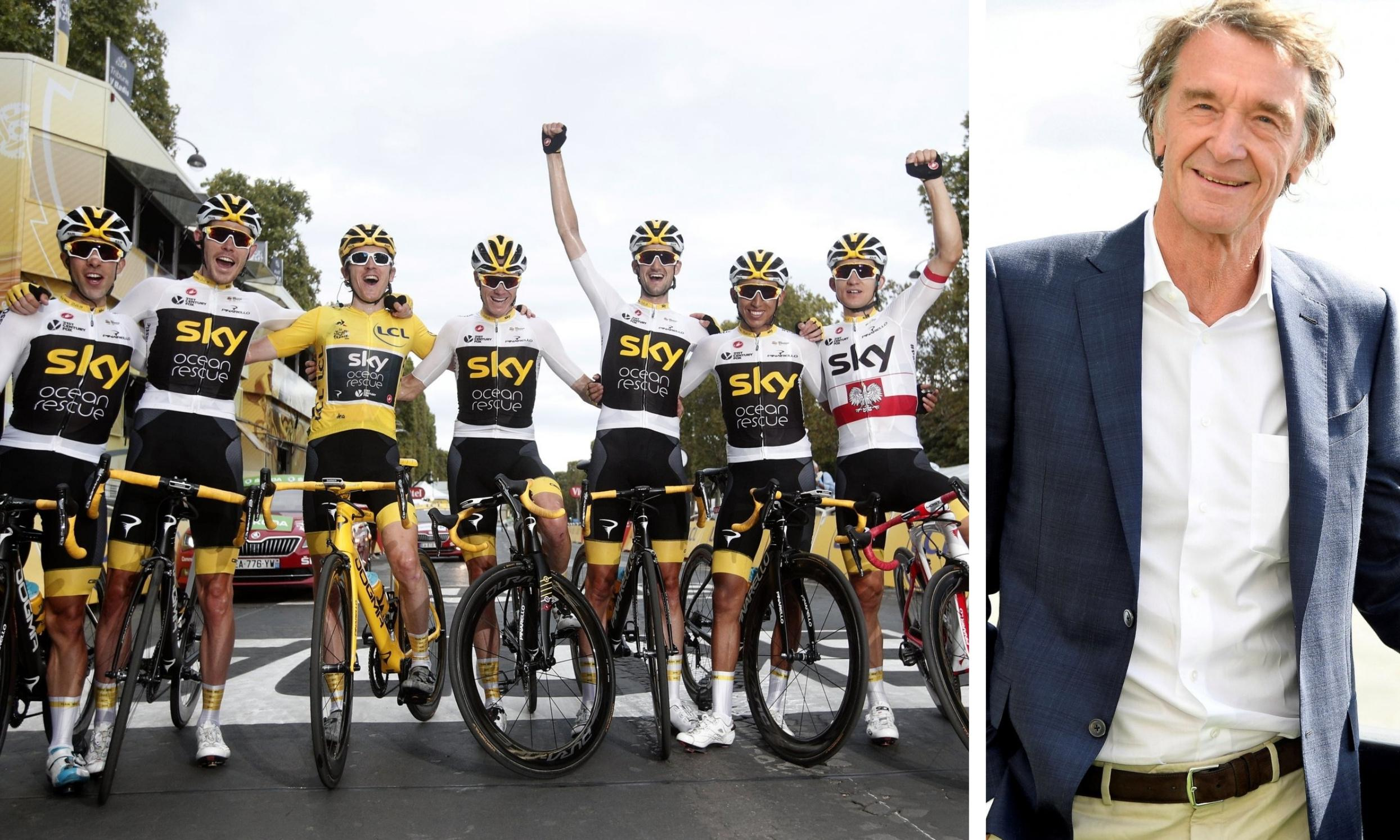 Team Sky set for takeover by Britain's richest man, Sir Jim Ratcliffe