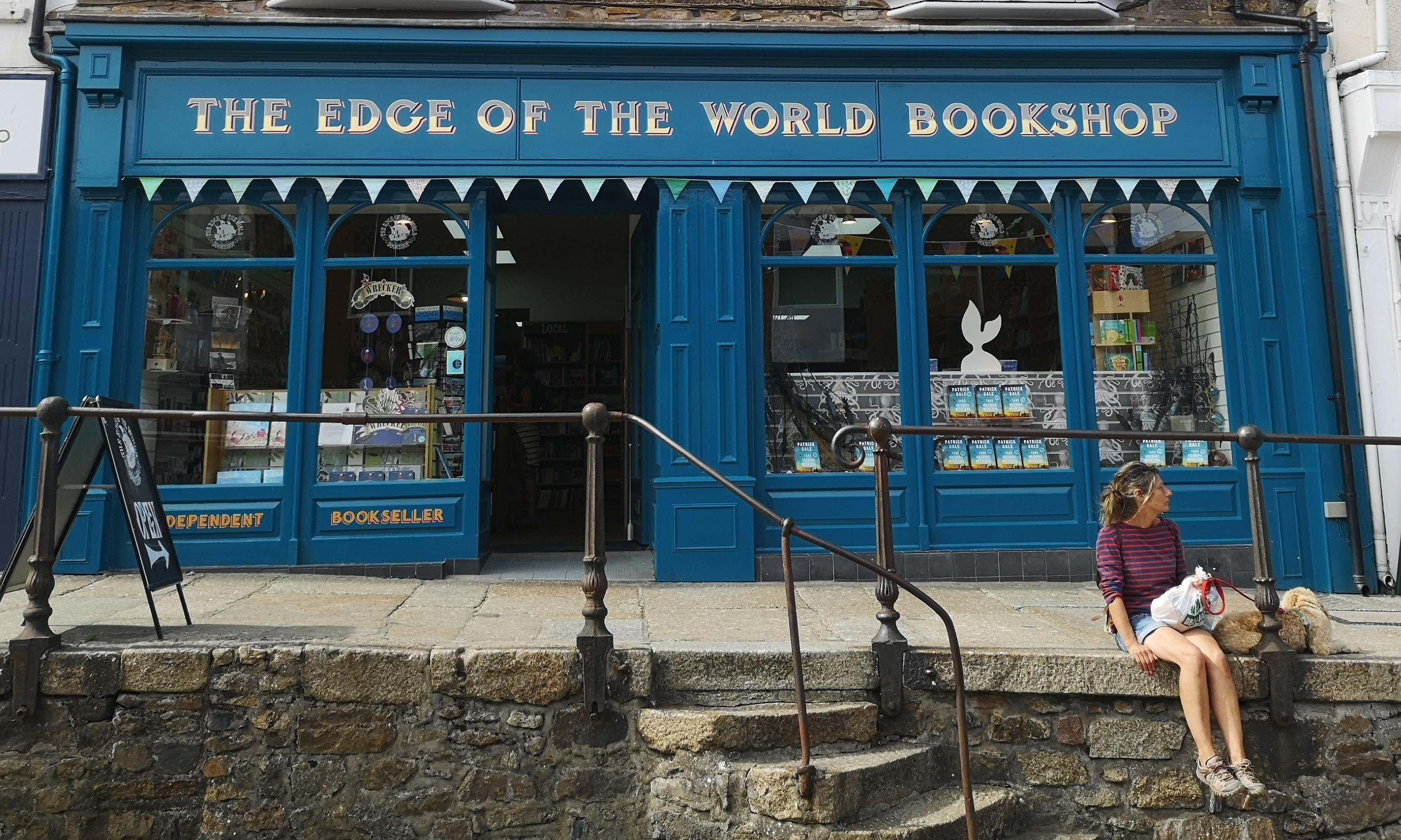 Browse a bookshop: The Edge of the World Bookshop, Penzance