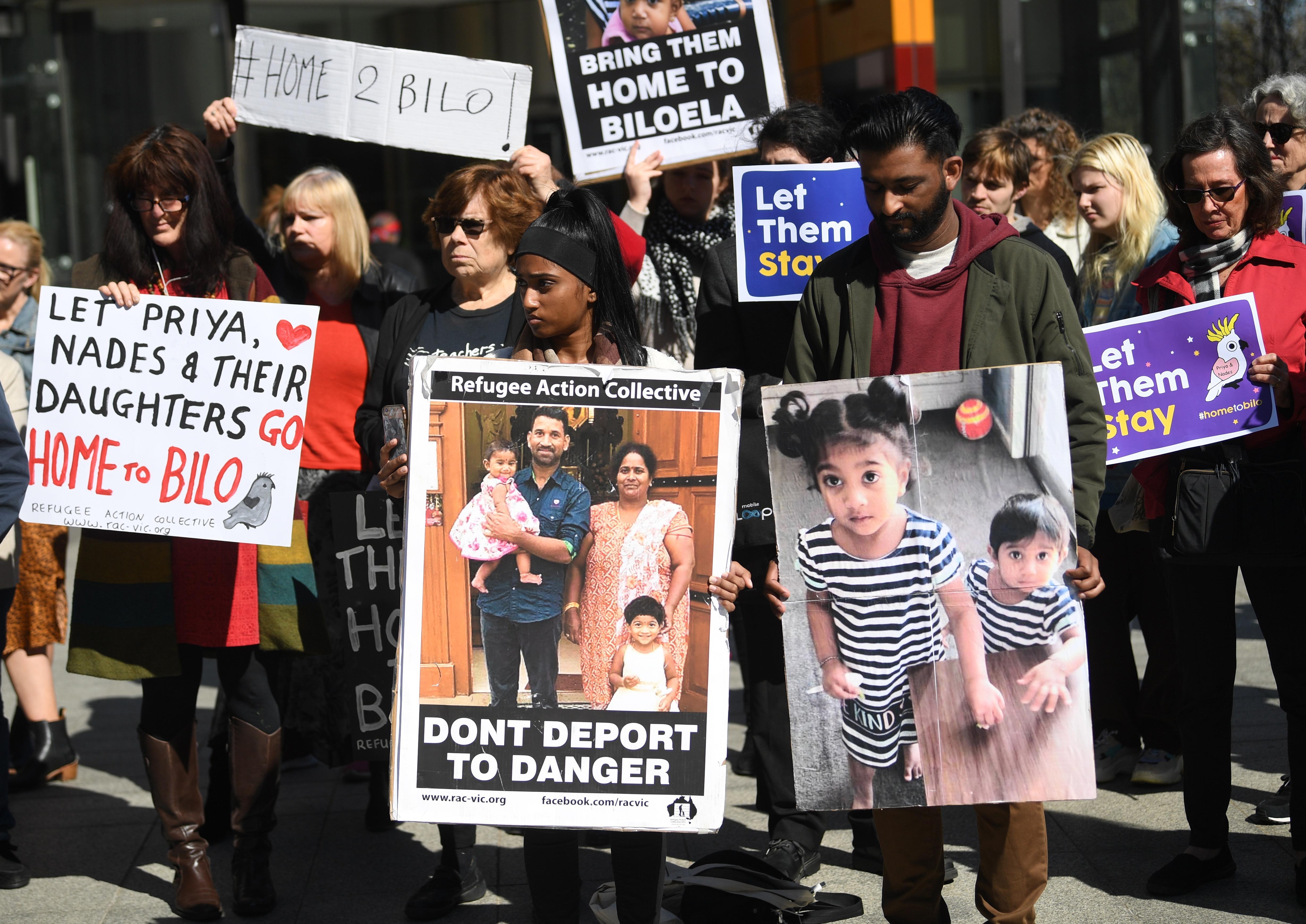 Biloela Tamil family deportation case: asylum seekers can stay until final hearing