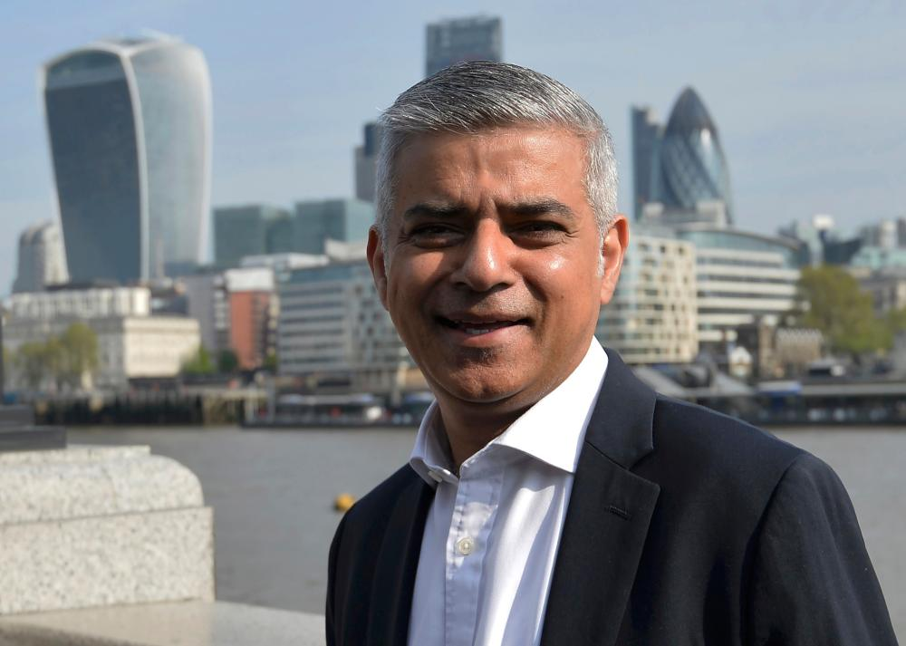 London's newly elected mayor, Sadiq Khan.