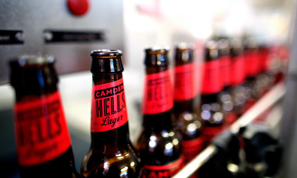 Hells Lager by Camden Town Brewery