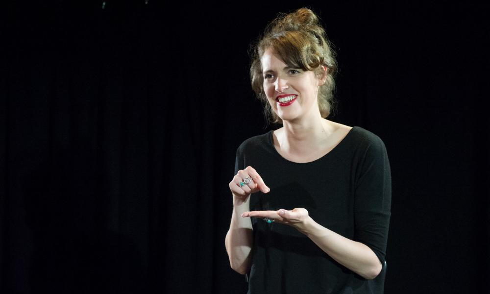 From three-star to five-star … Steve Marmion remembers when Phoebe Waller-Bridge's Fleabag solo show was yet to get its full credit.