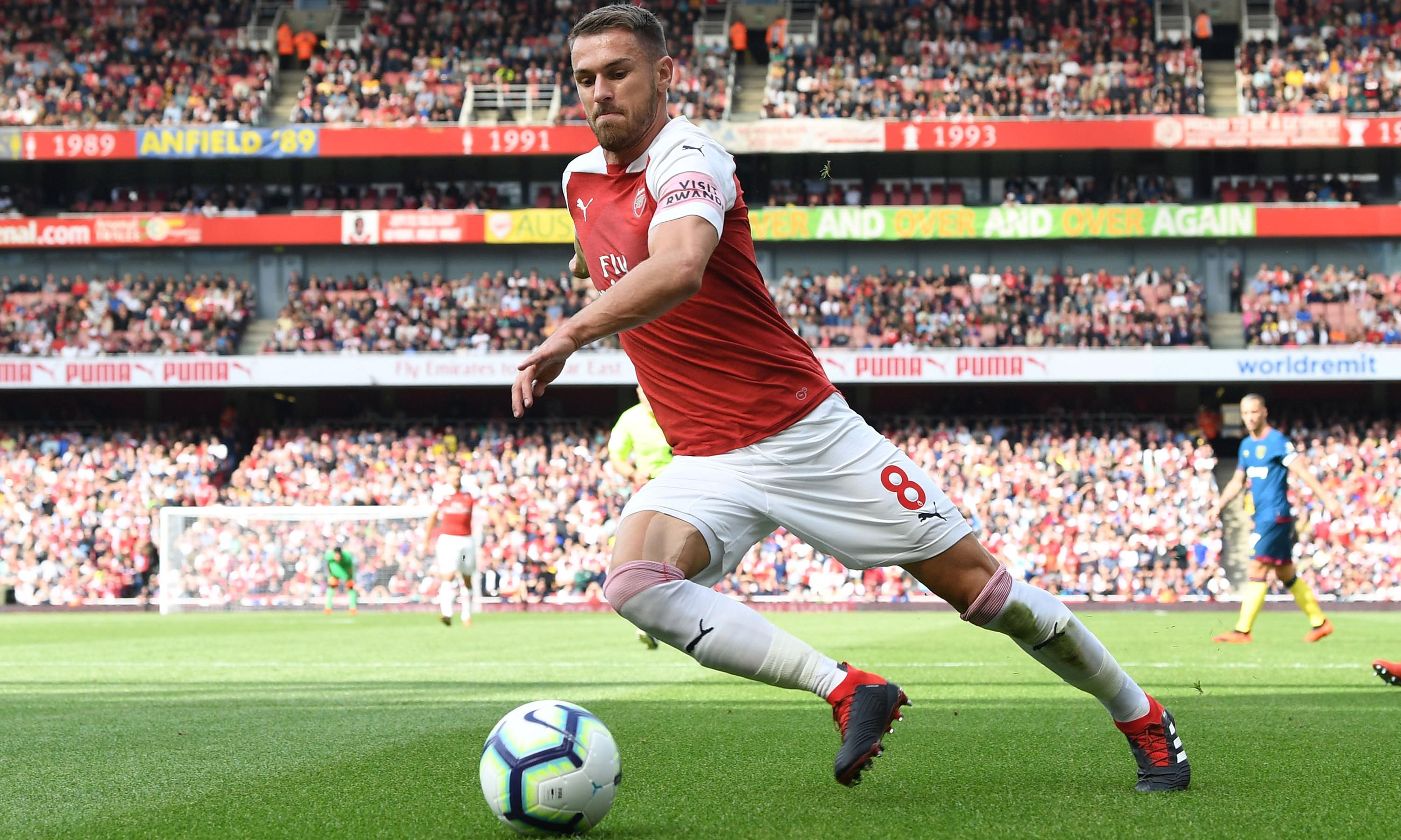 Aaron Ramsey will follow in the footsteps of greatness by moving to Juventus