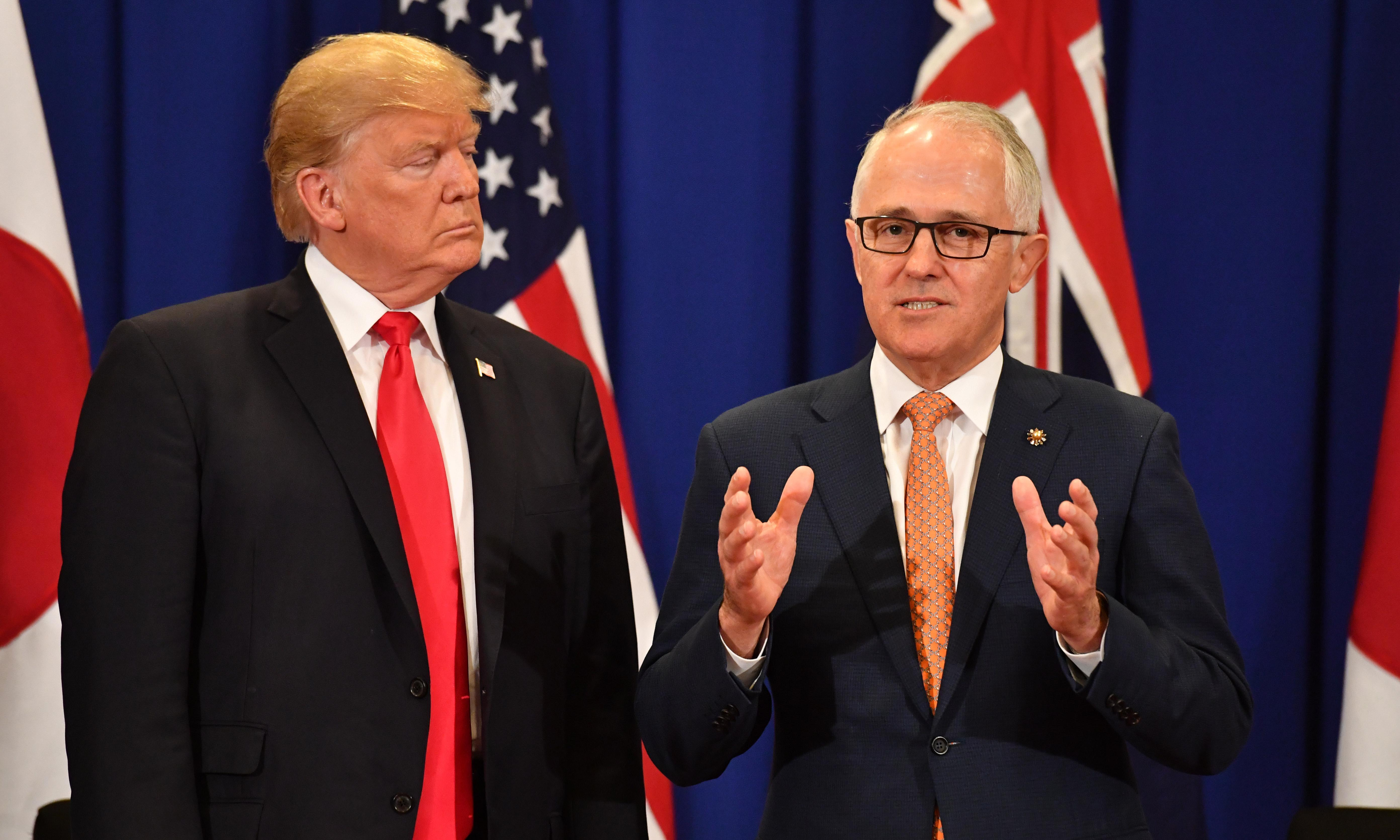 Former Australian PM Malcolm Turnbull says Trump is the world's 'leading climate denier'
