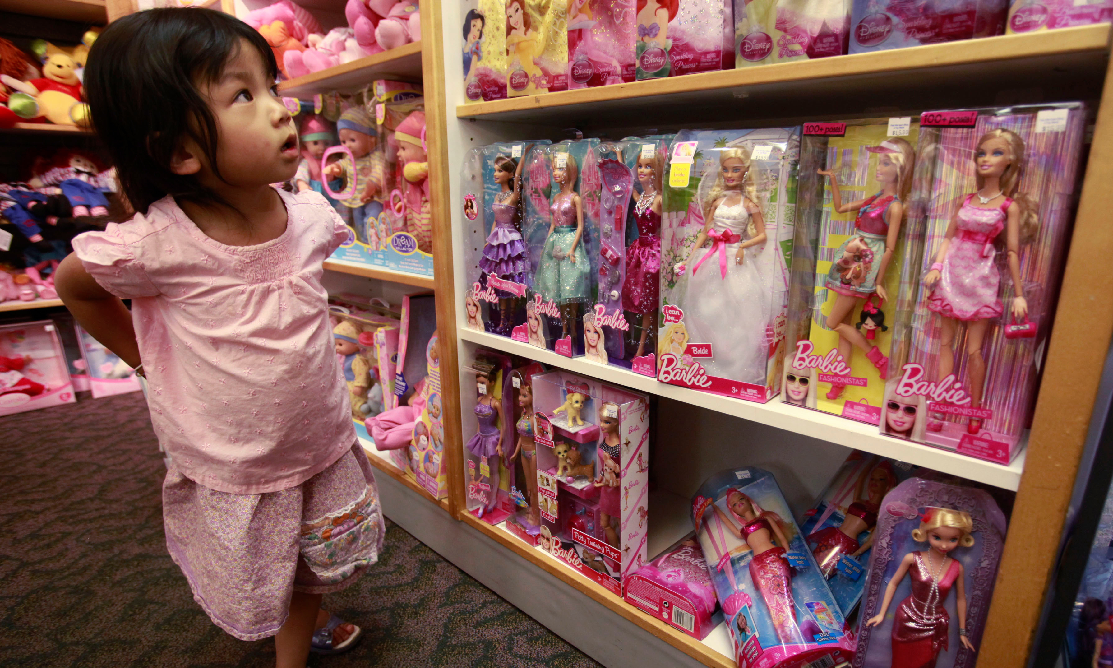 Toys aimed at girls 'steering women away from science careers'