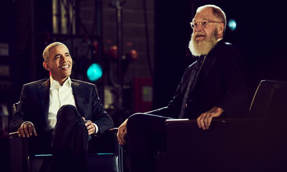 Obama and Letterman … genuine warmth