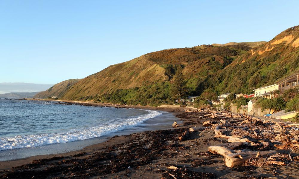 Pukerua Bay on the Kapiti coast