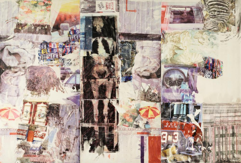 Robert Rauschenberg Mirthday Man [Anagram (A Pun)] 1997