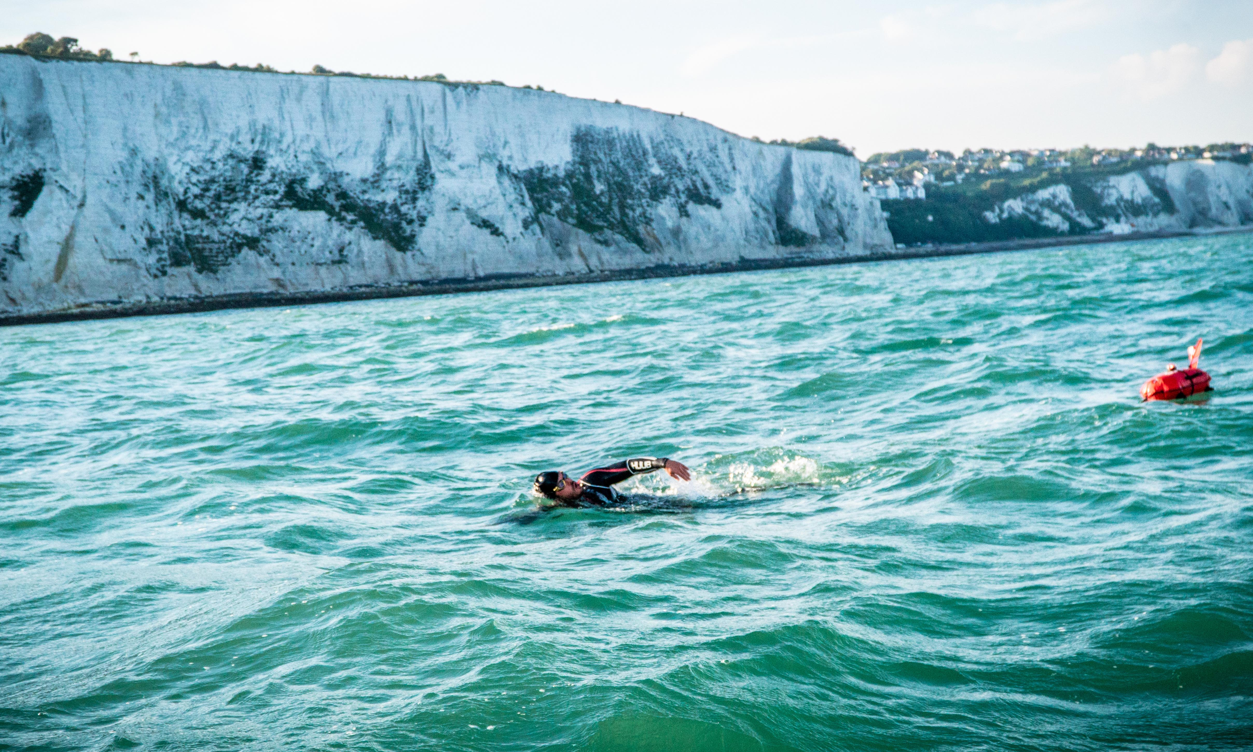 'Chunks of my tongue came off – you could see the tastebuds': Ross Edgley on swimming around Great Britain