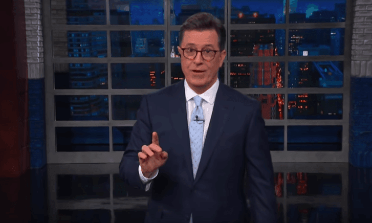 Colbert on Trump at the G7: 'Like a toddler who put a Lego in his mouth'