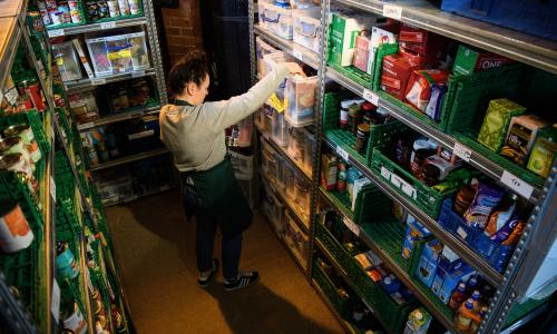 'It's a life or death situation': why GPs are referring patients to food banks