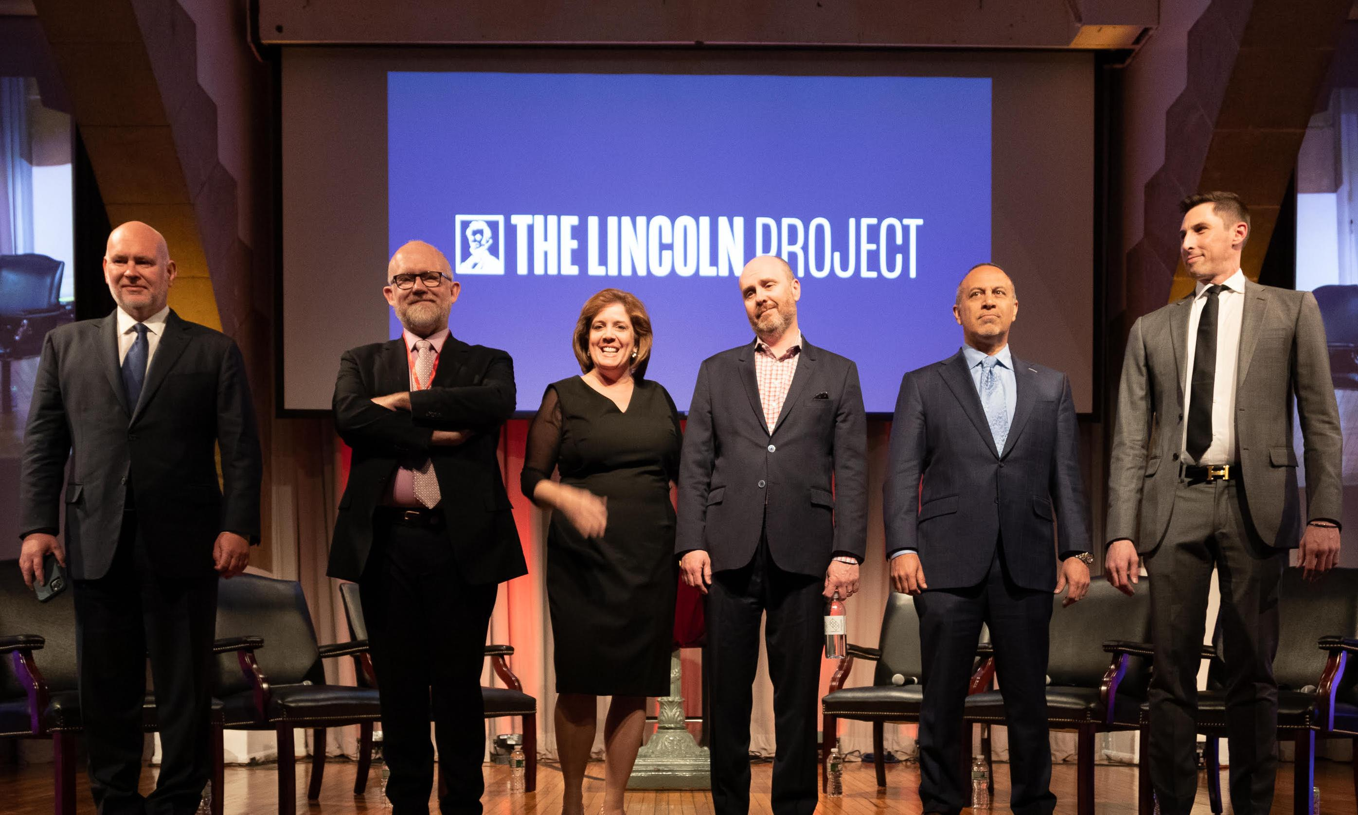 'Right makes might': Lincoln Project takes aim at Trump from Cooper Union