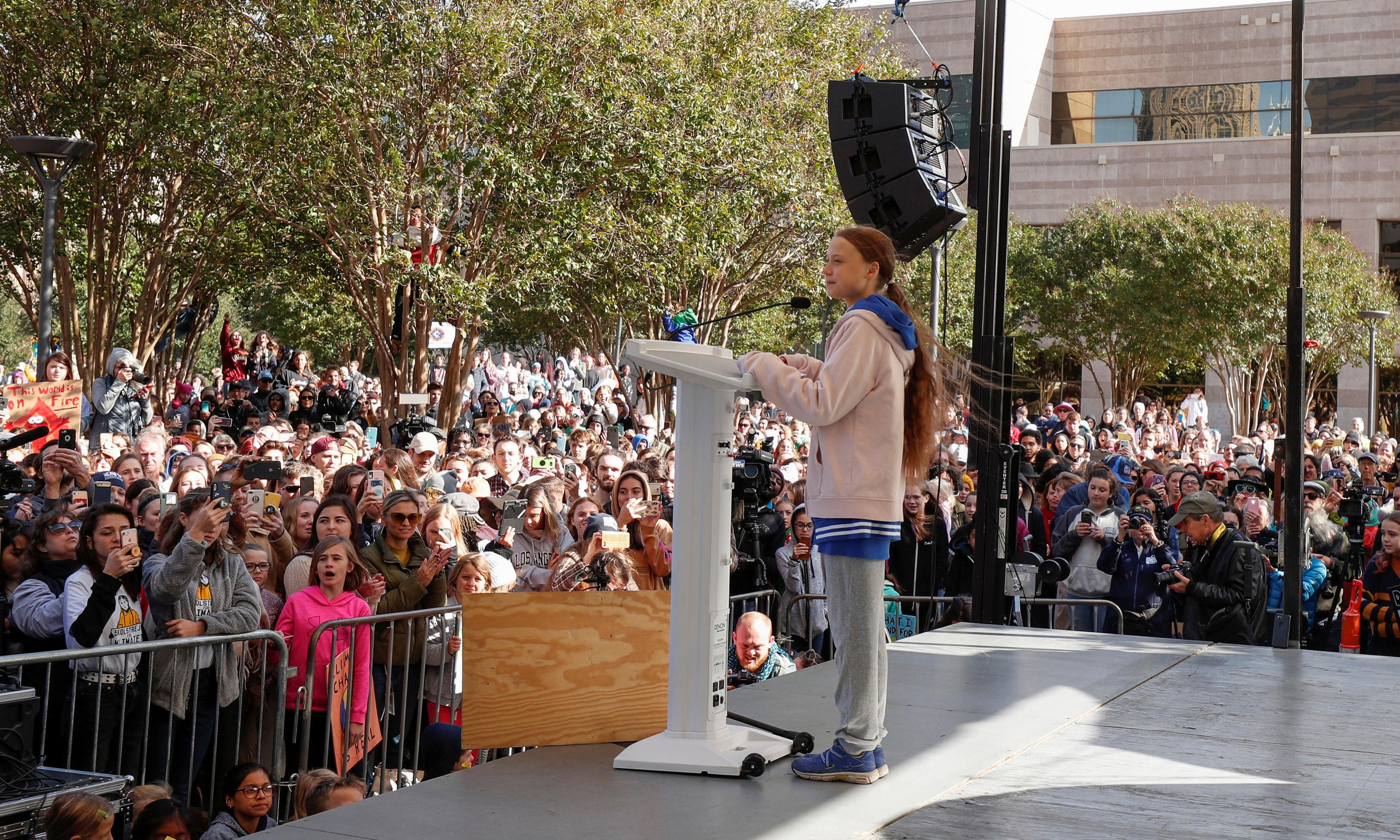 Greta Thunberg leaves US with simple climate crisis message: vote