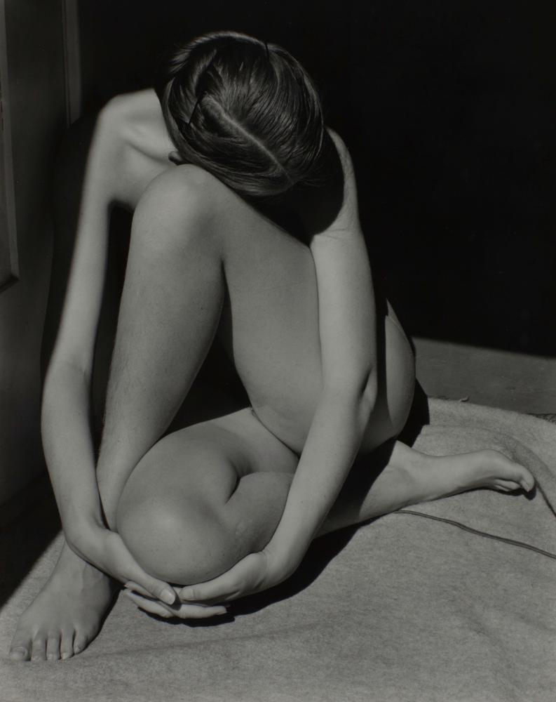 A nude by Edward Weston.