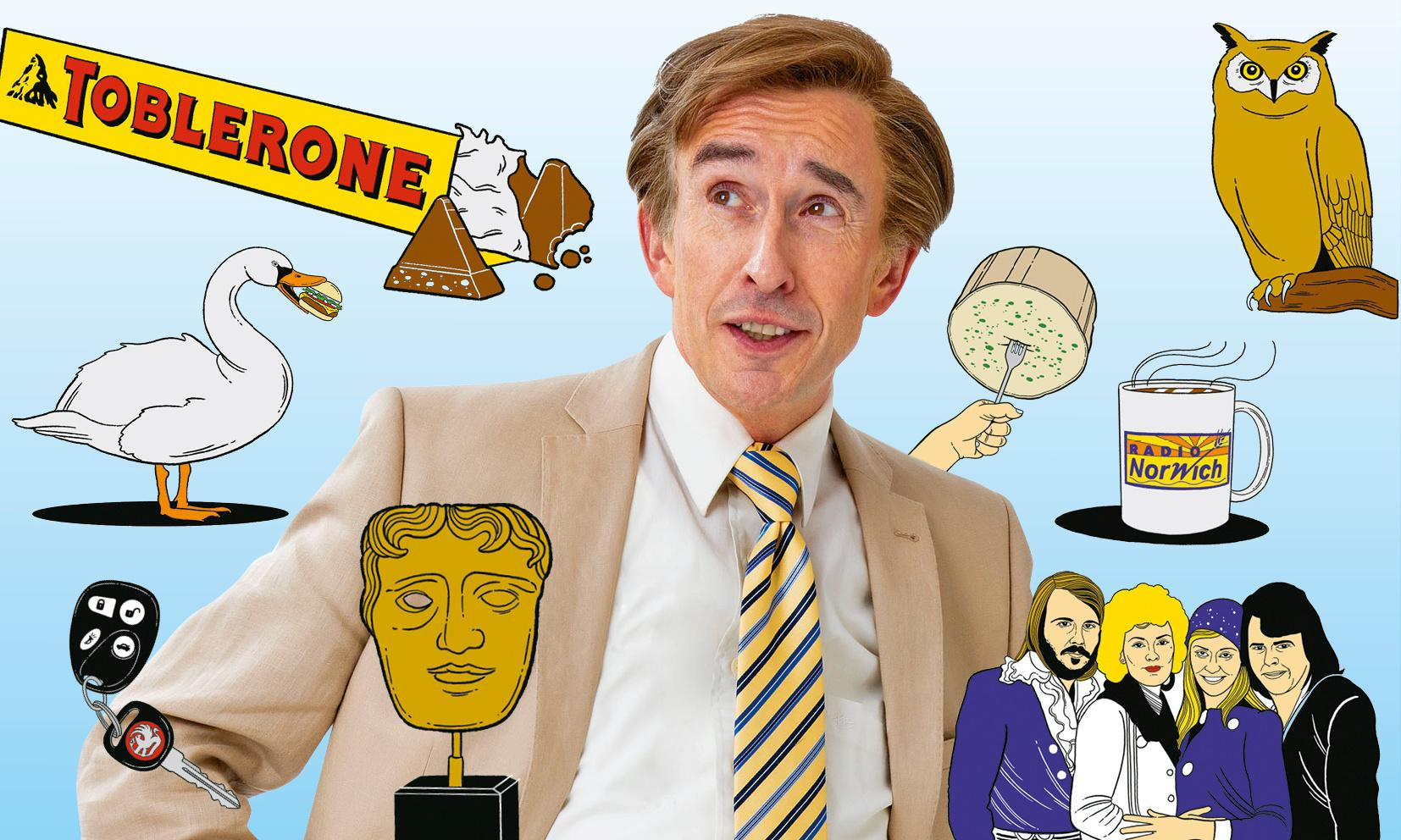 From 'Aha!' to zombies: the encyclopedia of Alan Partridge