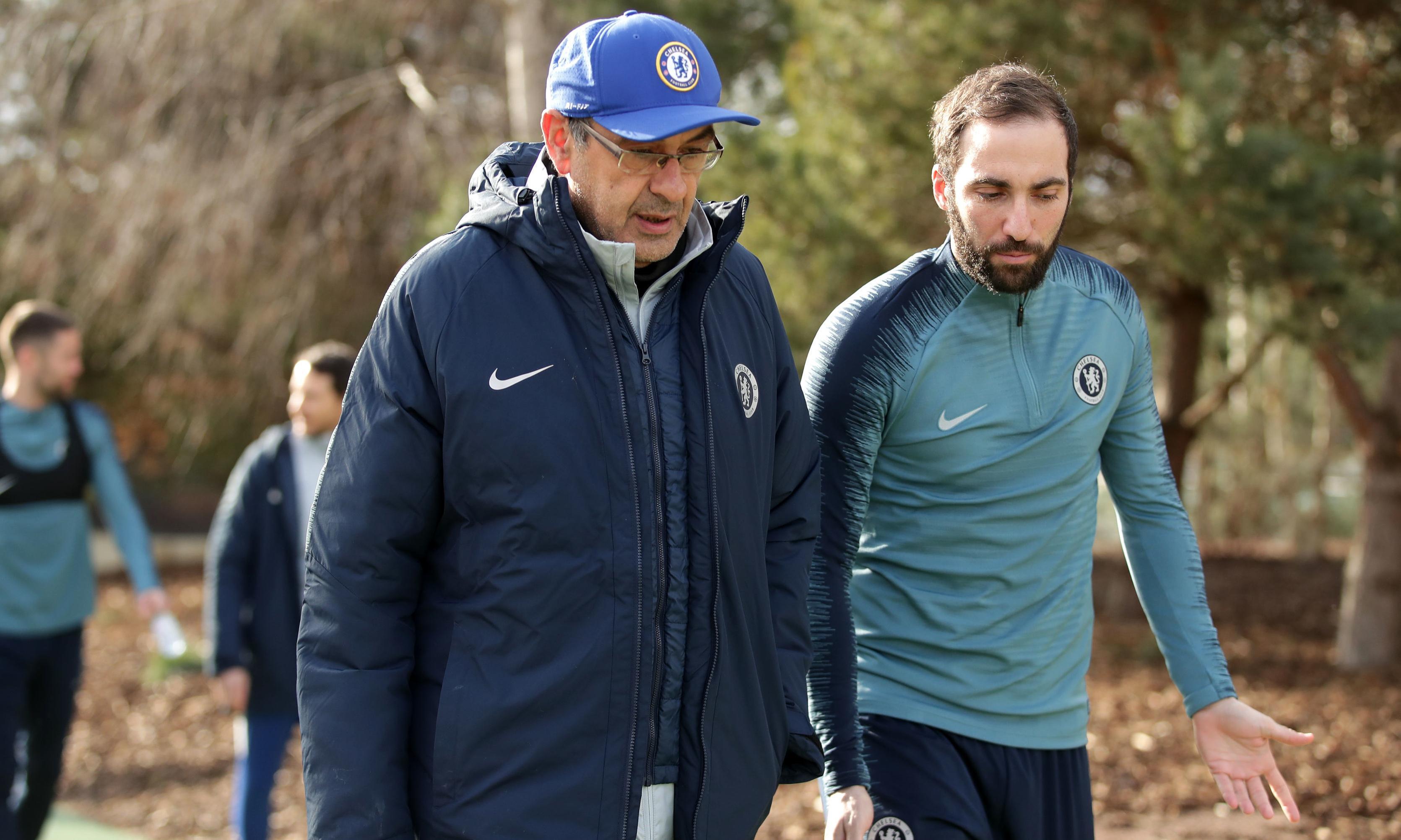 Maurizio Sarri says Chelsea struggles are not down to his tactics