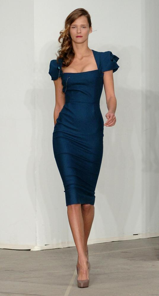 Roland Mouret's galaxy dress, 2005.