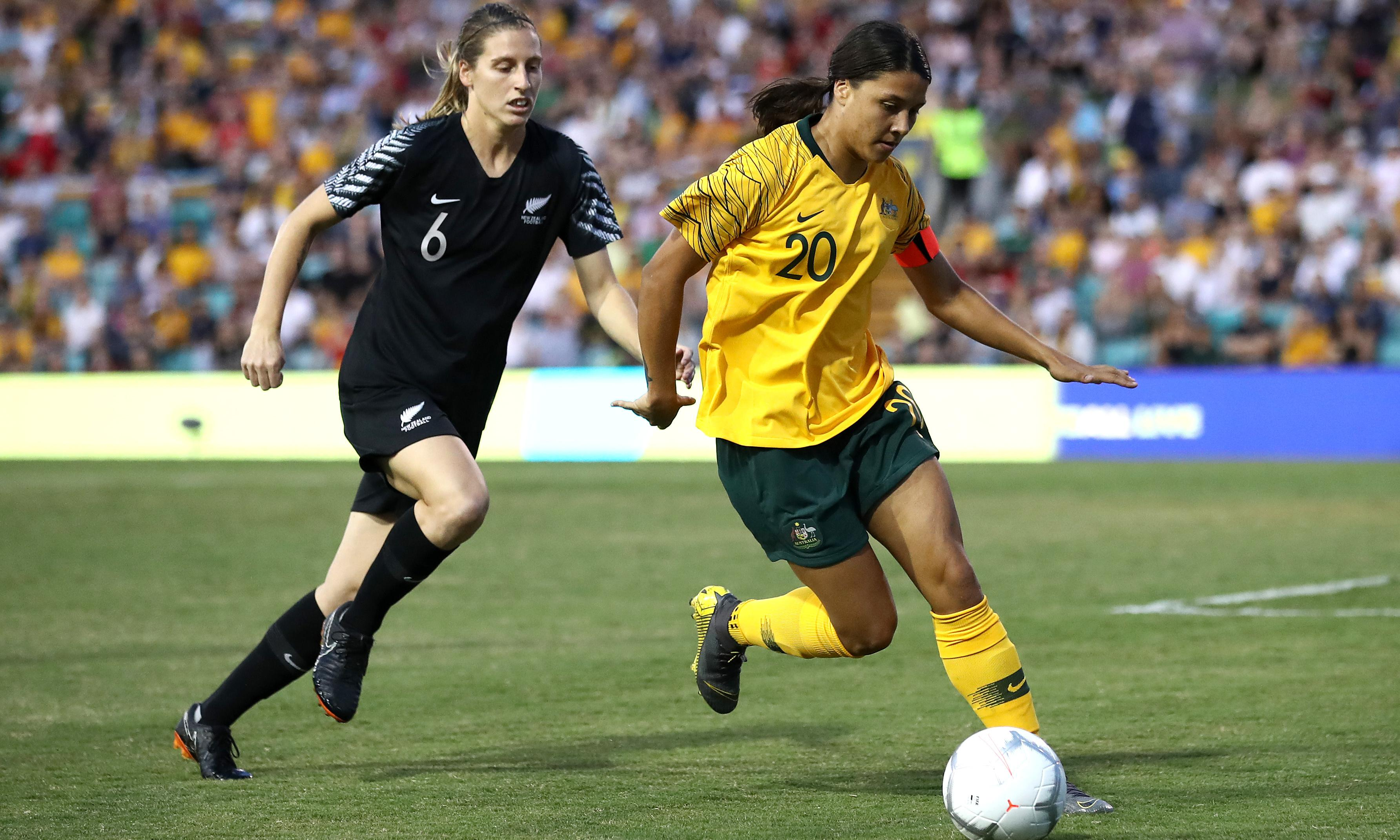 Australia and New Zealand join forces for 2023 Women's World Cup bid