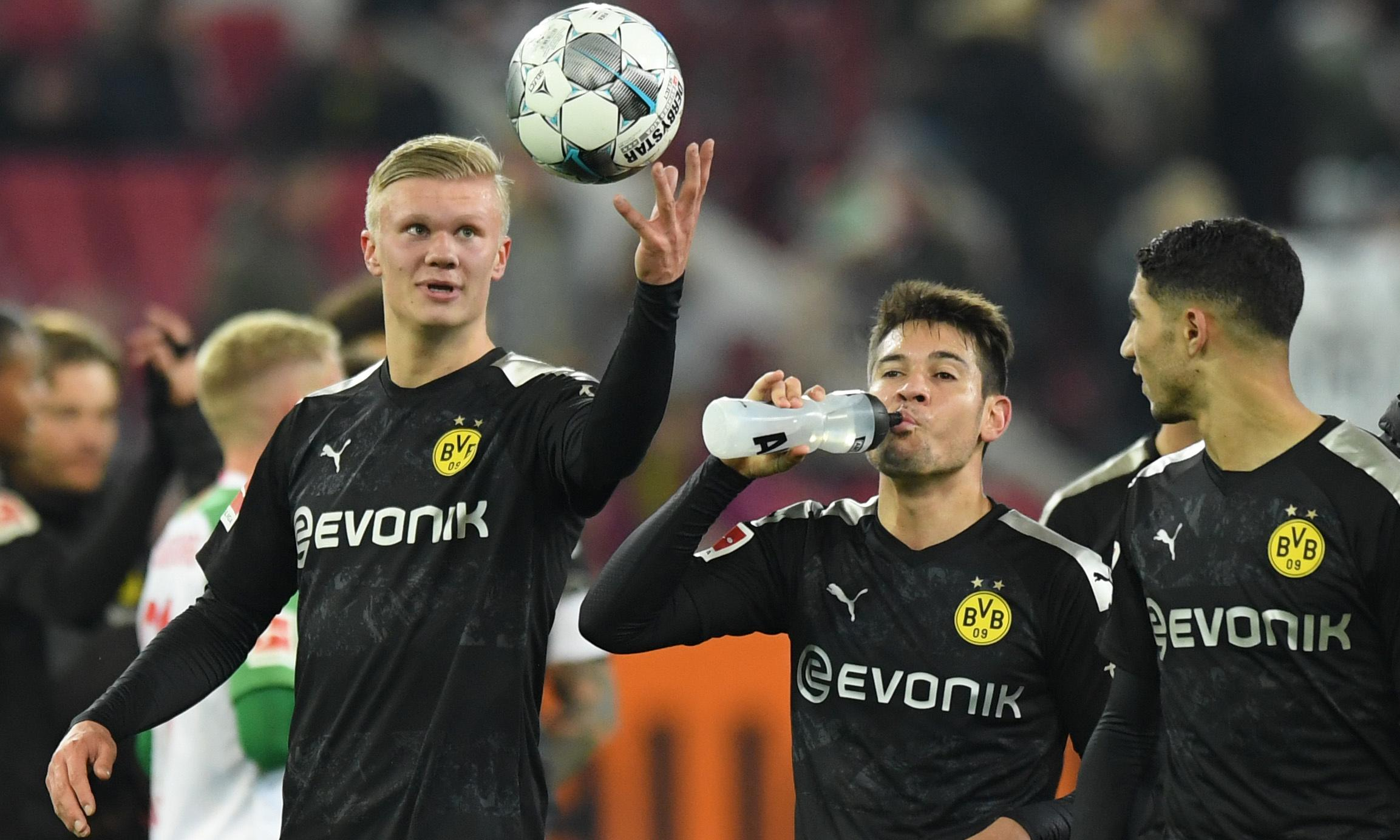 Erling Braut Haaland gatecrashes again to haul Dortmund out of mire