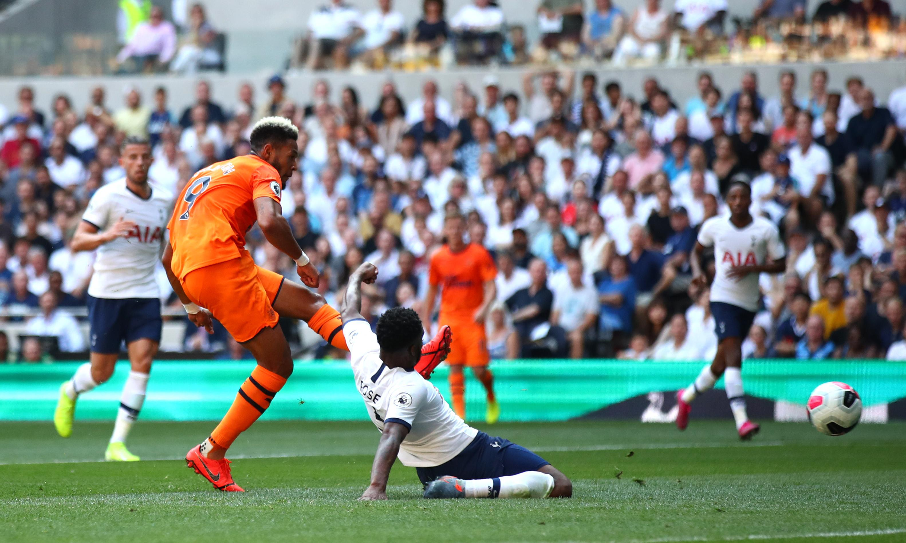 Joelinton secures Newcastle's first points in surprise win at Tottenham